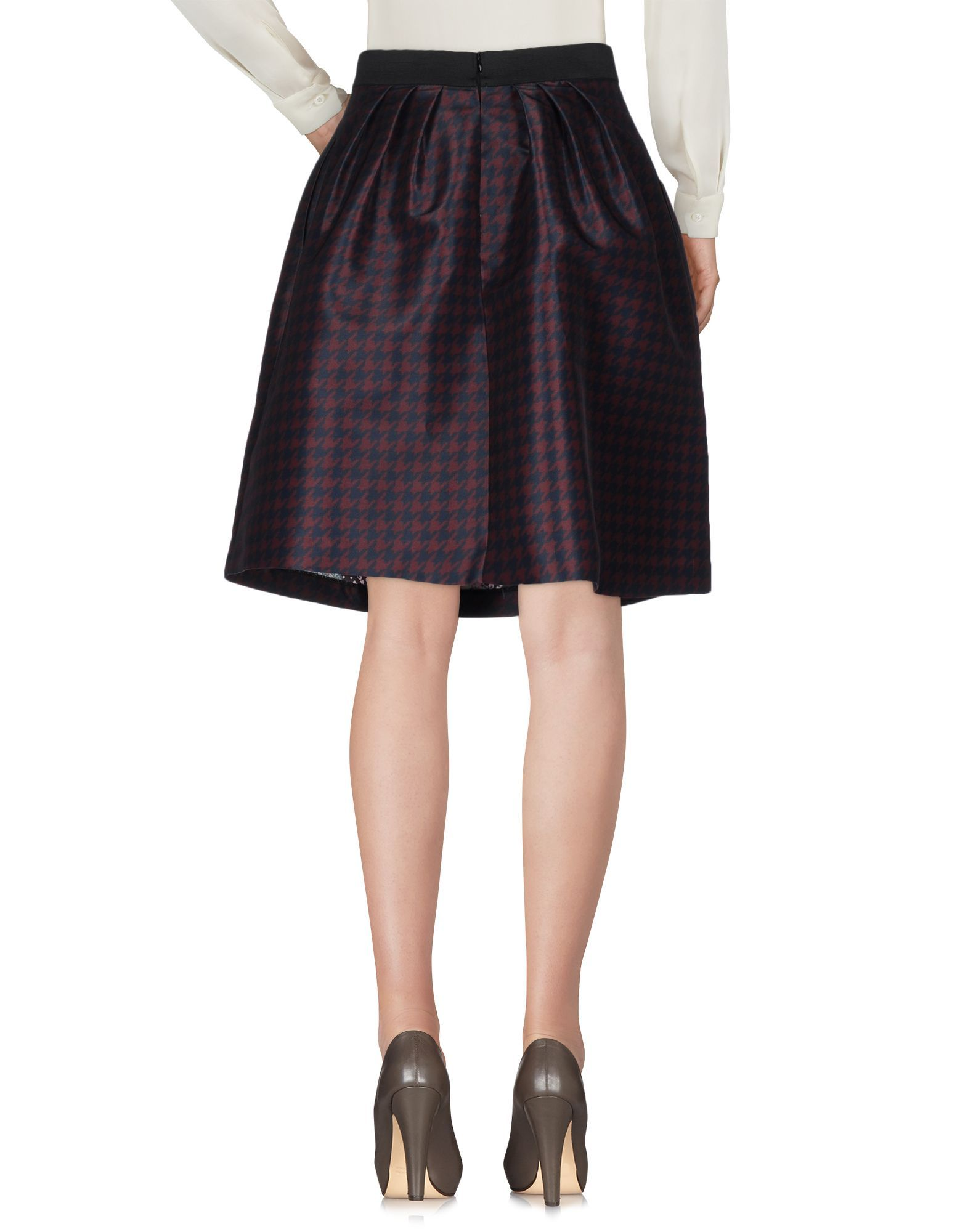 SKIRTS Toy G. Cocoa Woman Polyester