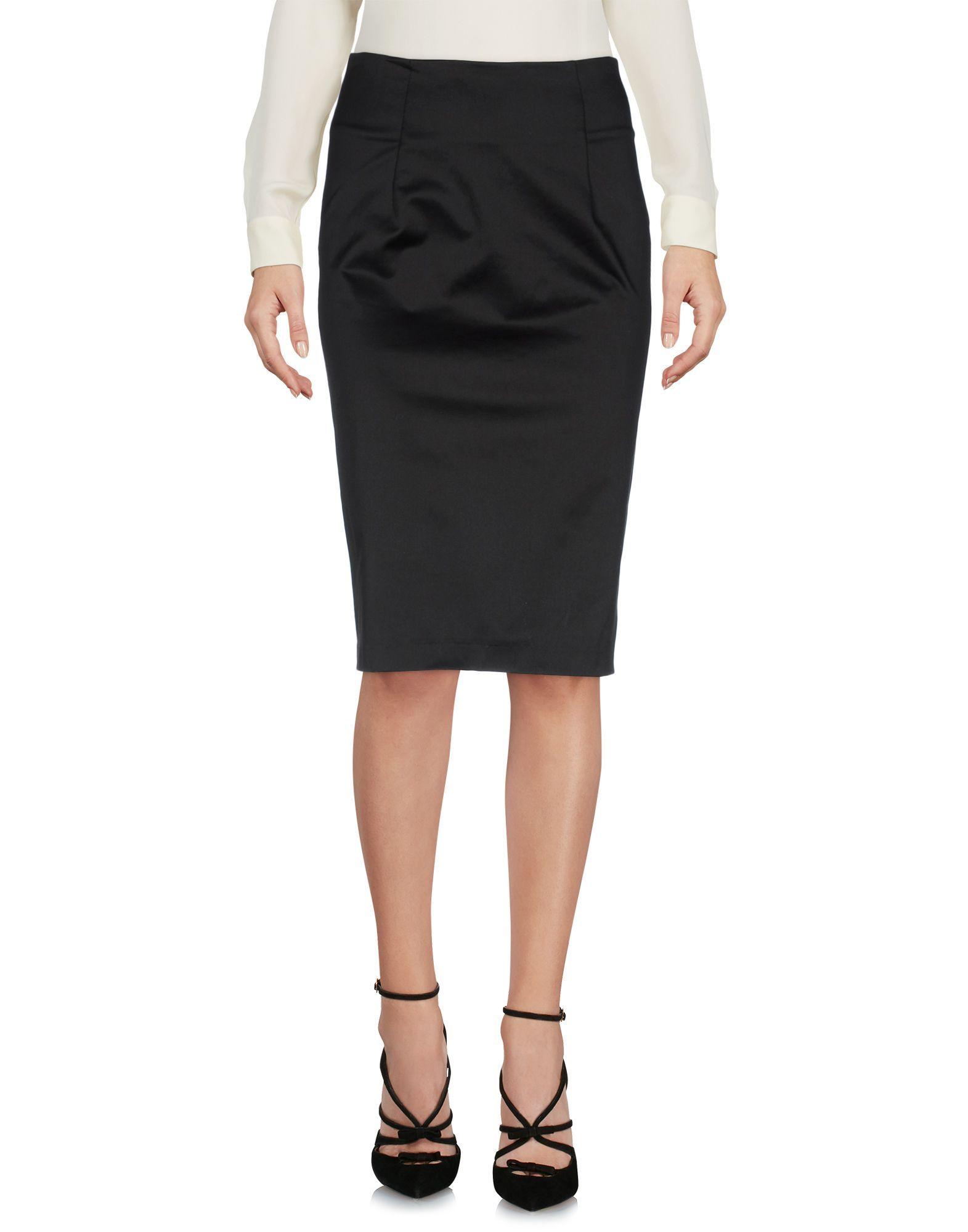 Annarita N Black Skirt