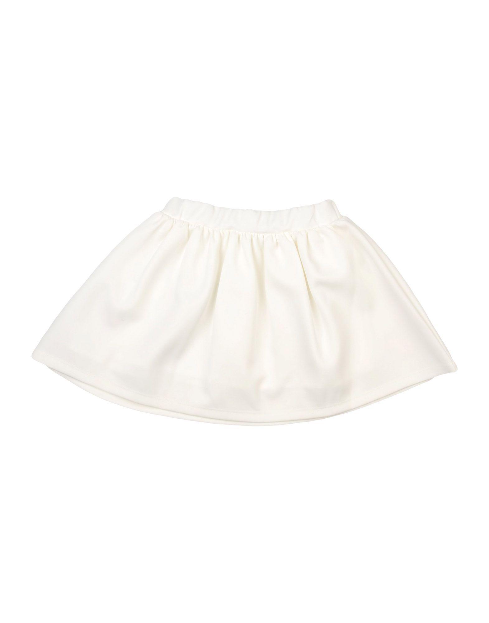 Paesaggino White Girls' Skirt