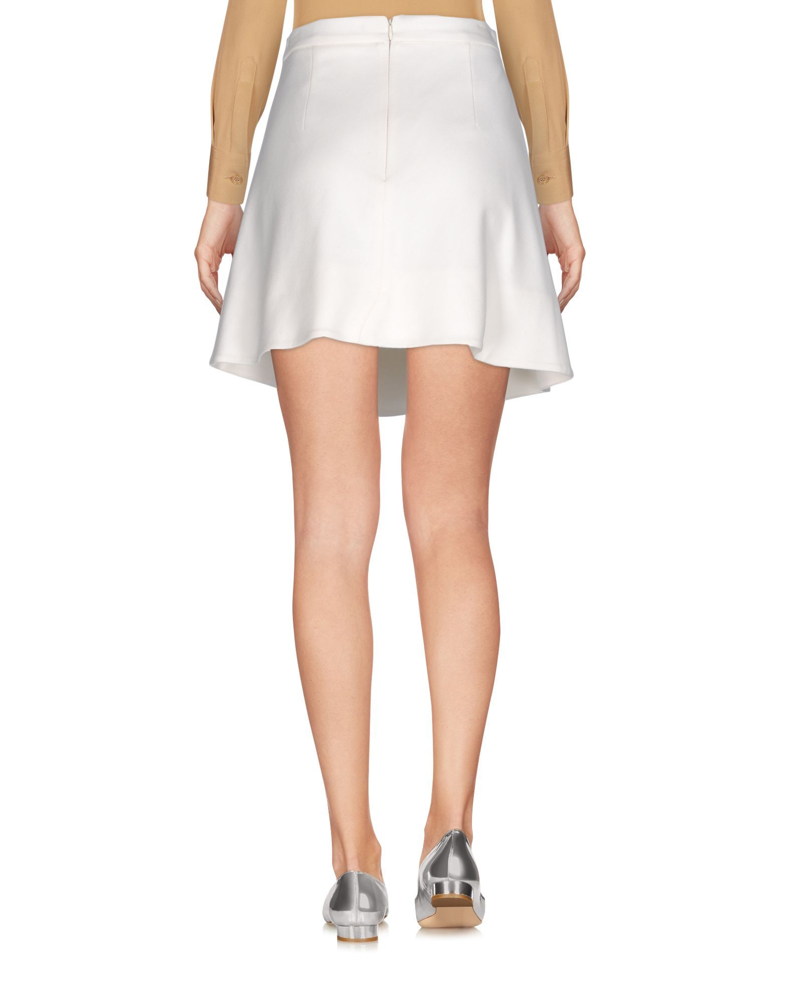SKIRTS Frankie Morello White Woman Viscose