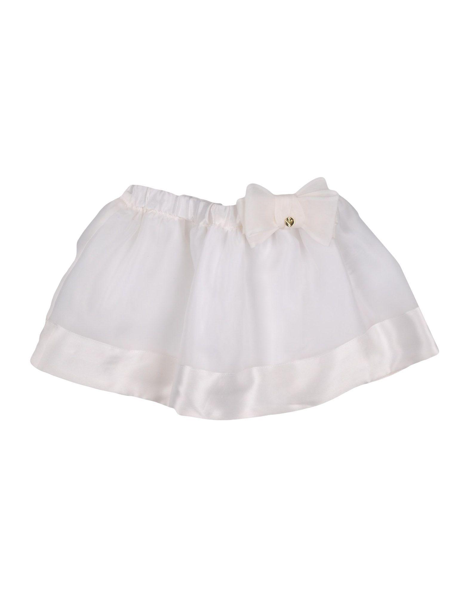 SKIRTS Armani Junior White Girl Silk