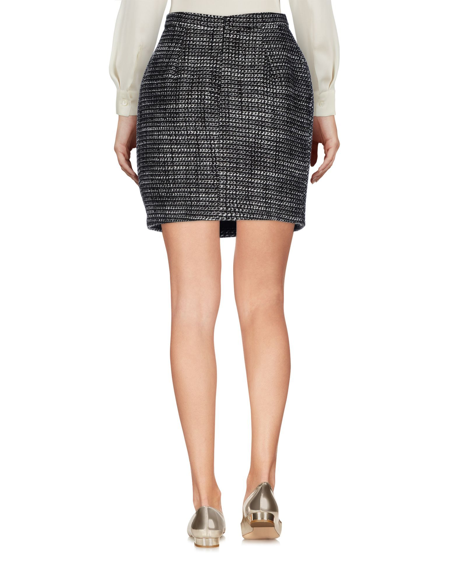 Skirt List Dark Brown Women's Acrilyc