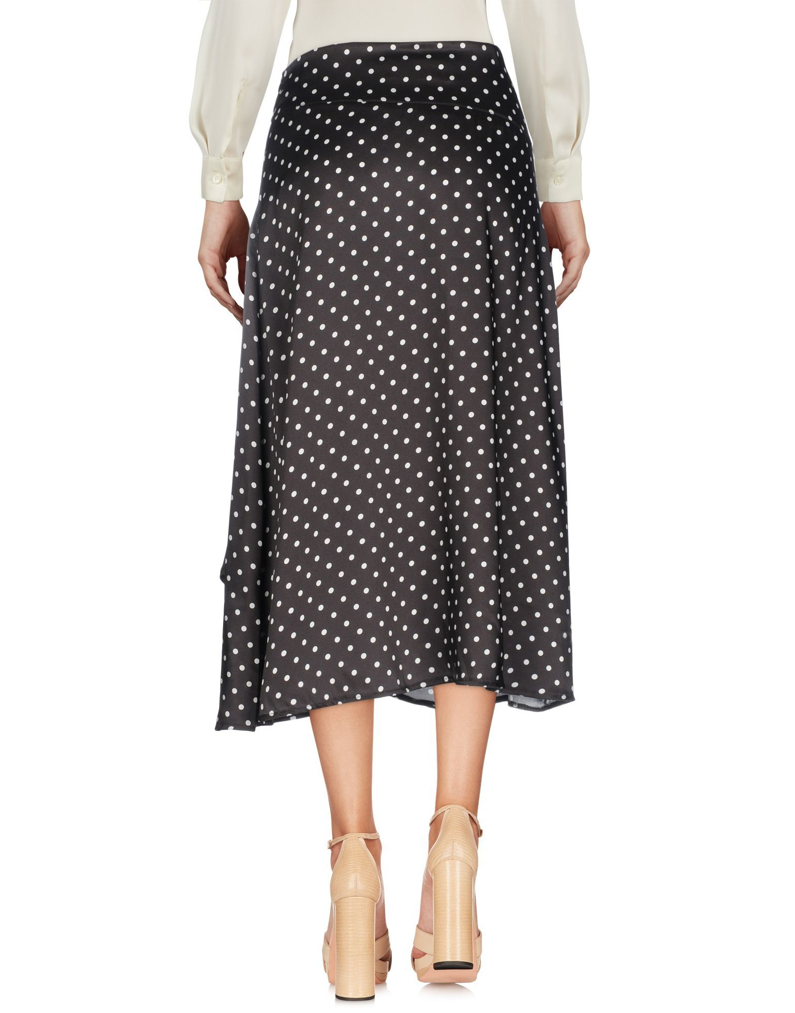 SKIRTS Giuliette Brown Black Woman Polyester