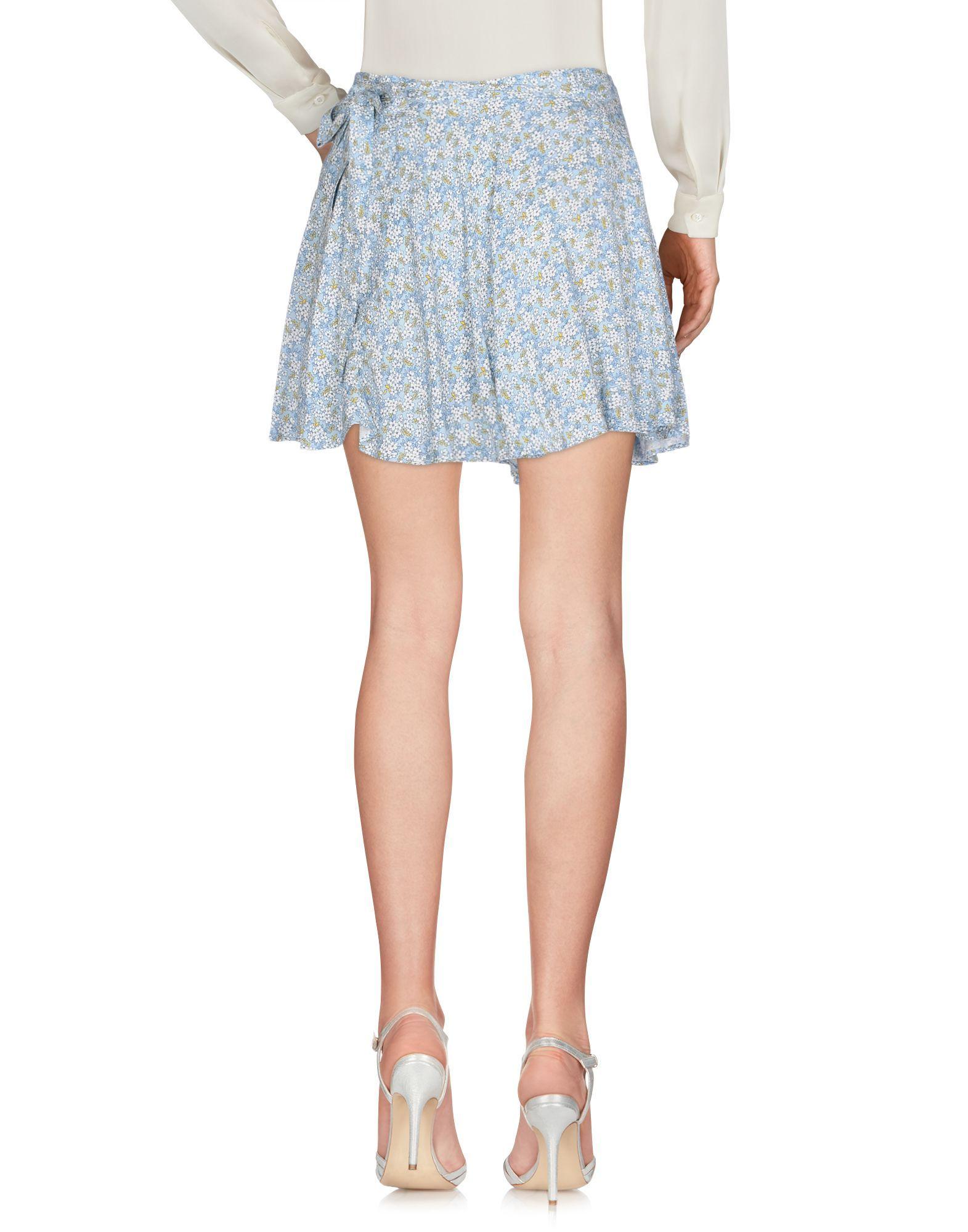 SKIRTS Denim & Supply Ralph Lauren Sky blue Woman Viscose