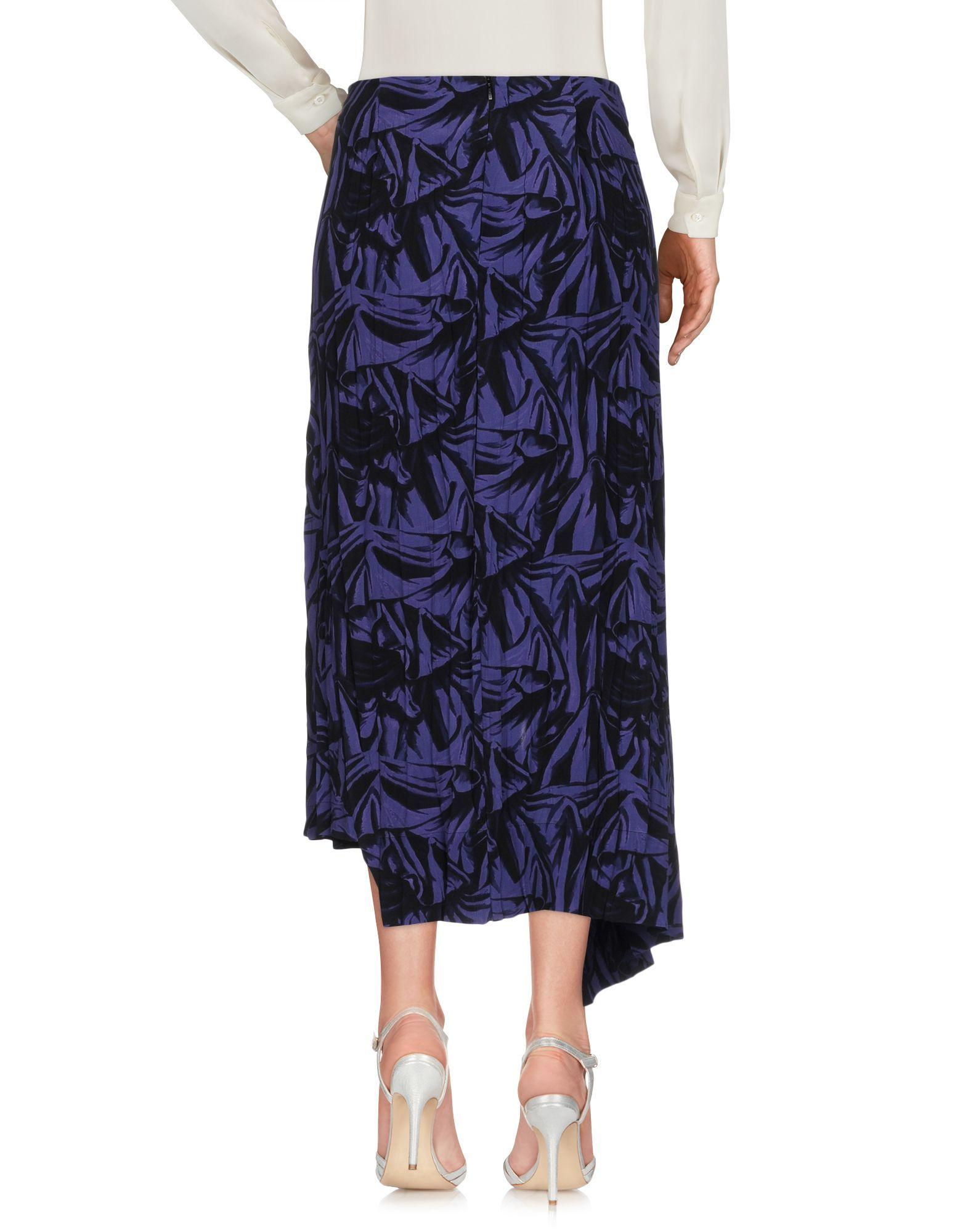 SKIRTS Woman Loewe Purple Viscose