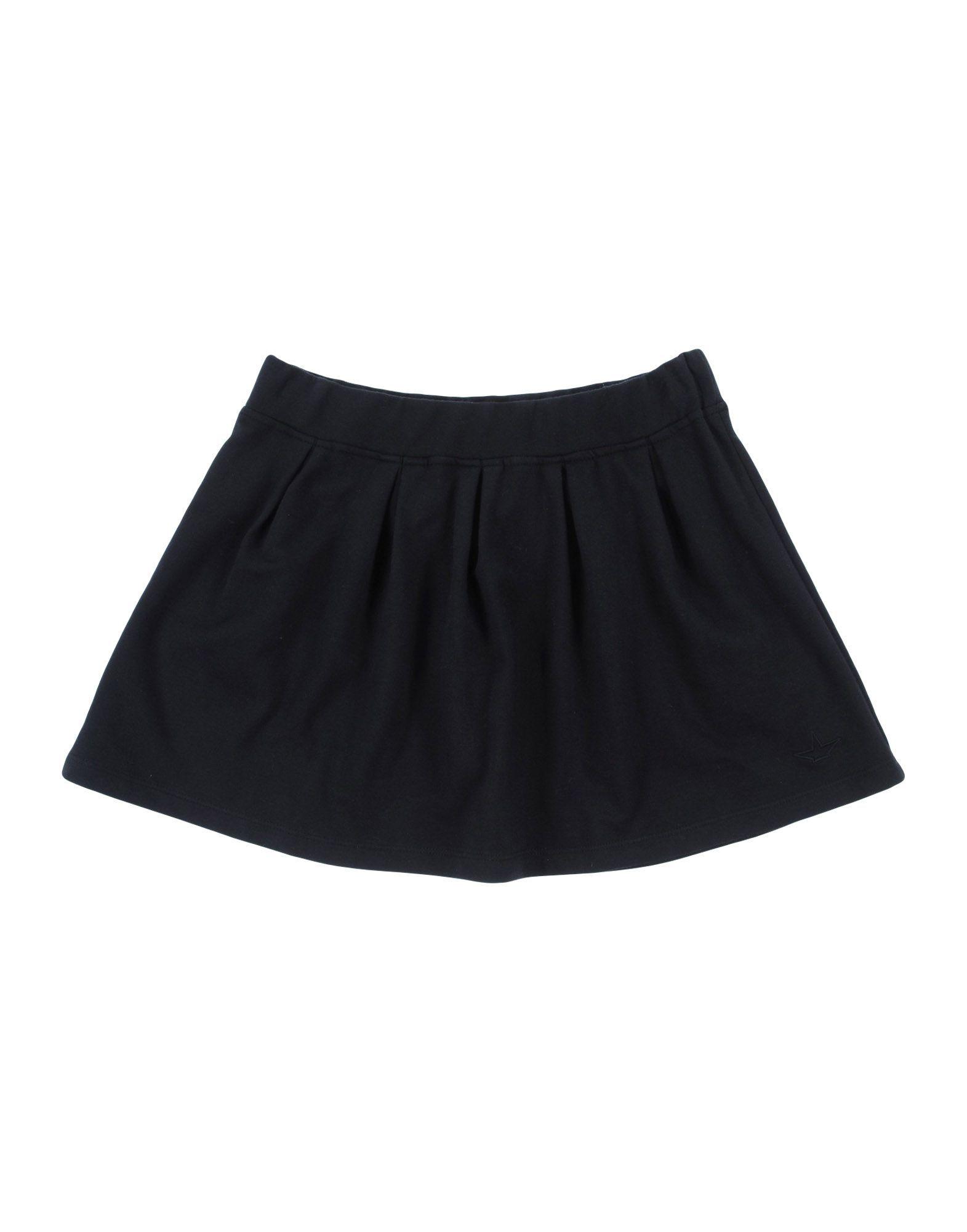 Macchia J Black Girls' Cotton Skirt