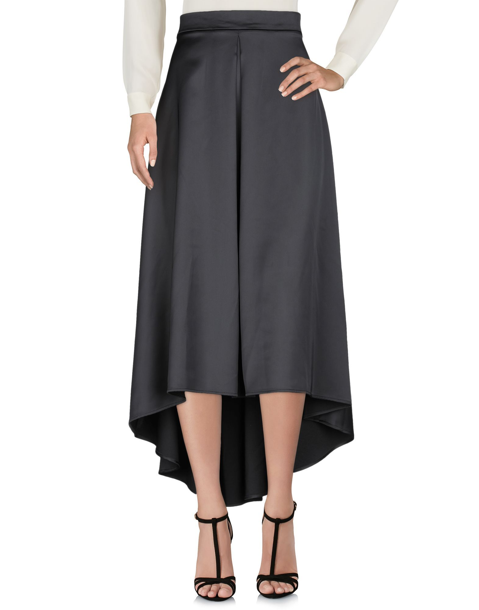 Denny Rose Black High Low Hem Skirt