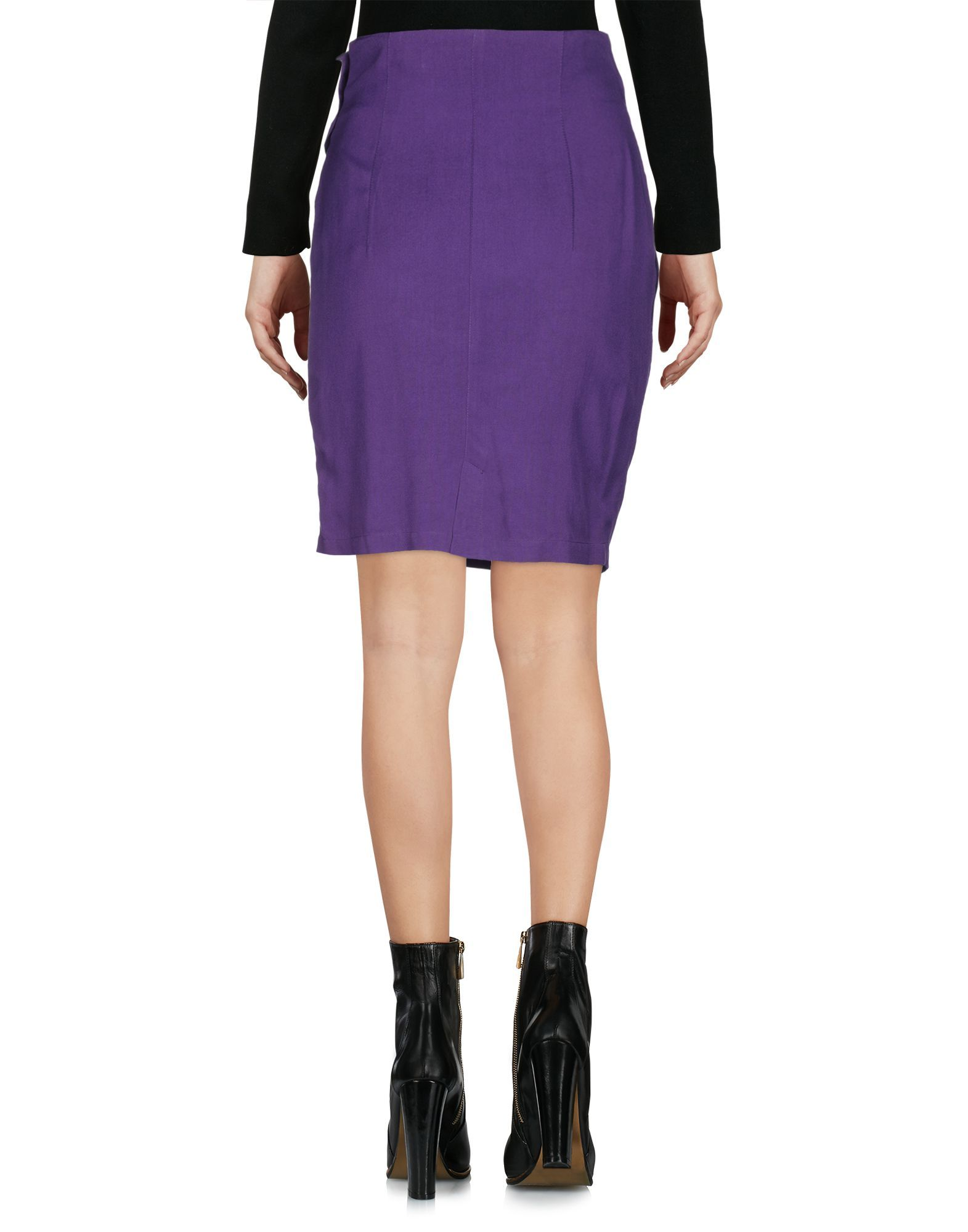 Versus Versace Purple Short Skirt