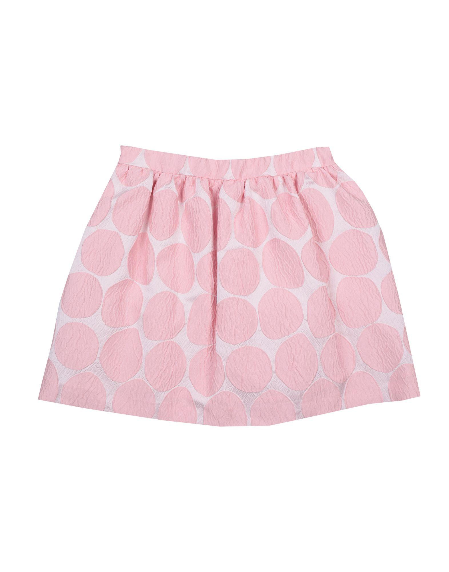 SKIRTS Girl I Pinco Pallino Pink Polyester