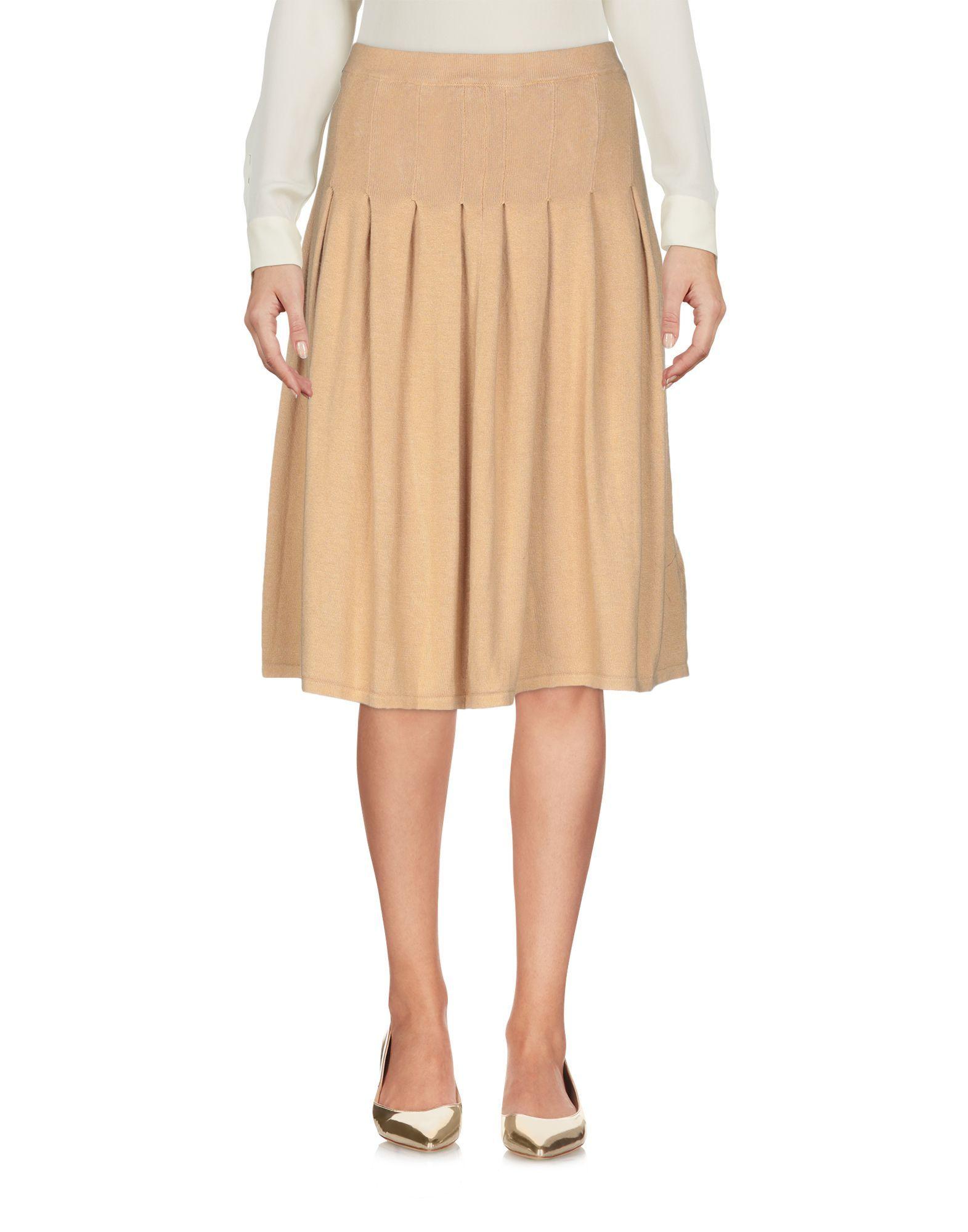 Pierre Balmain Sand Knit Skirt