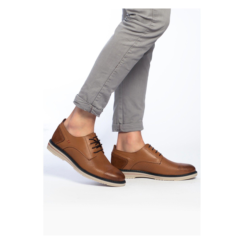 Men's Leather Lace Up Shoes