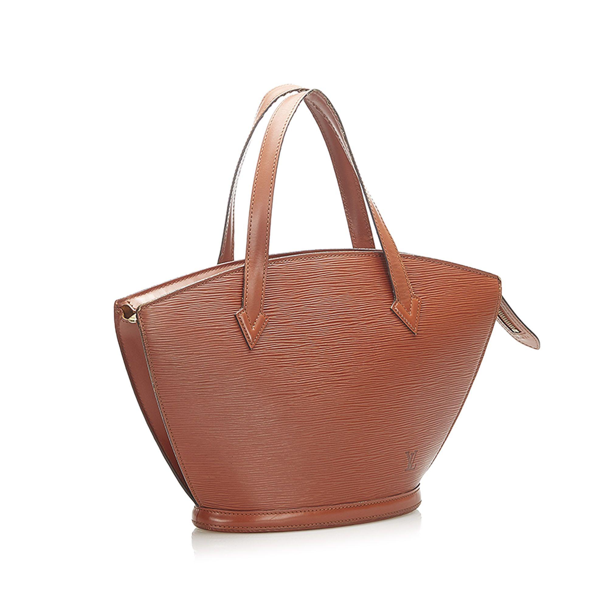 Vintage Louis Vuitton Epi Saint Jacques PM Short Strap Brown