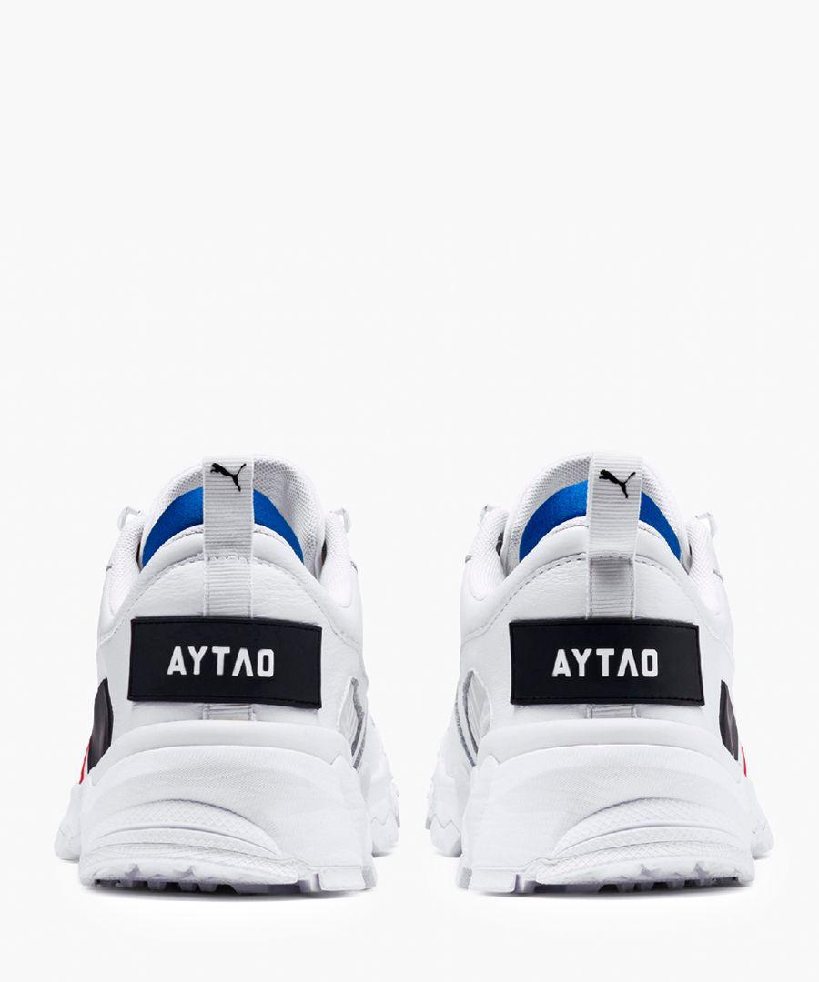 Trailfox white trainers