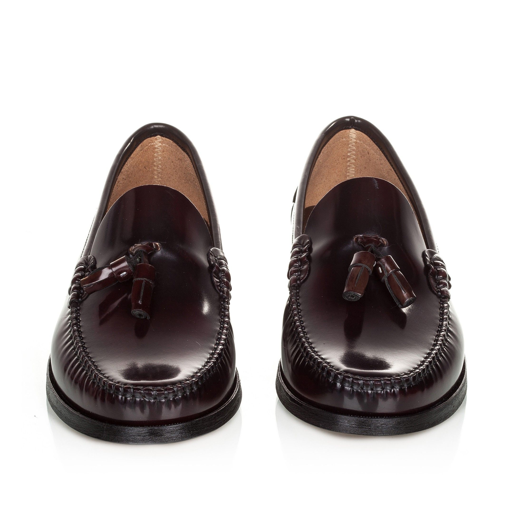 Castellanisimos Leather Moccasins with Tassels Elegant and Comfortable Classic Shoes