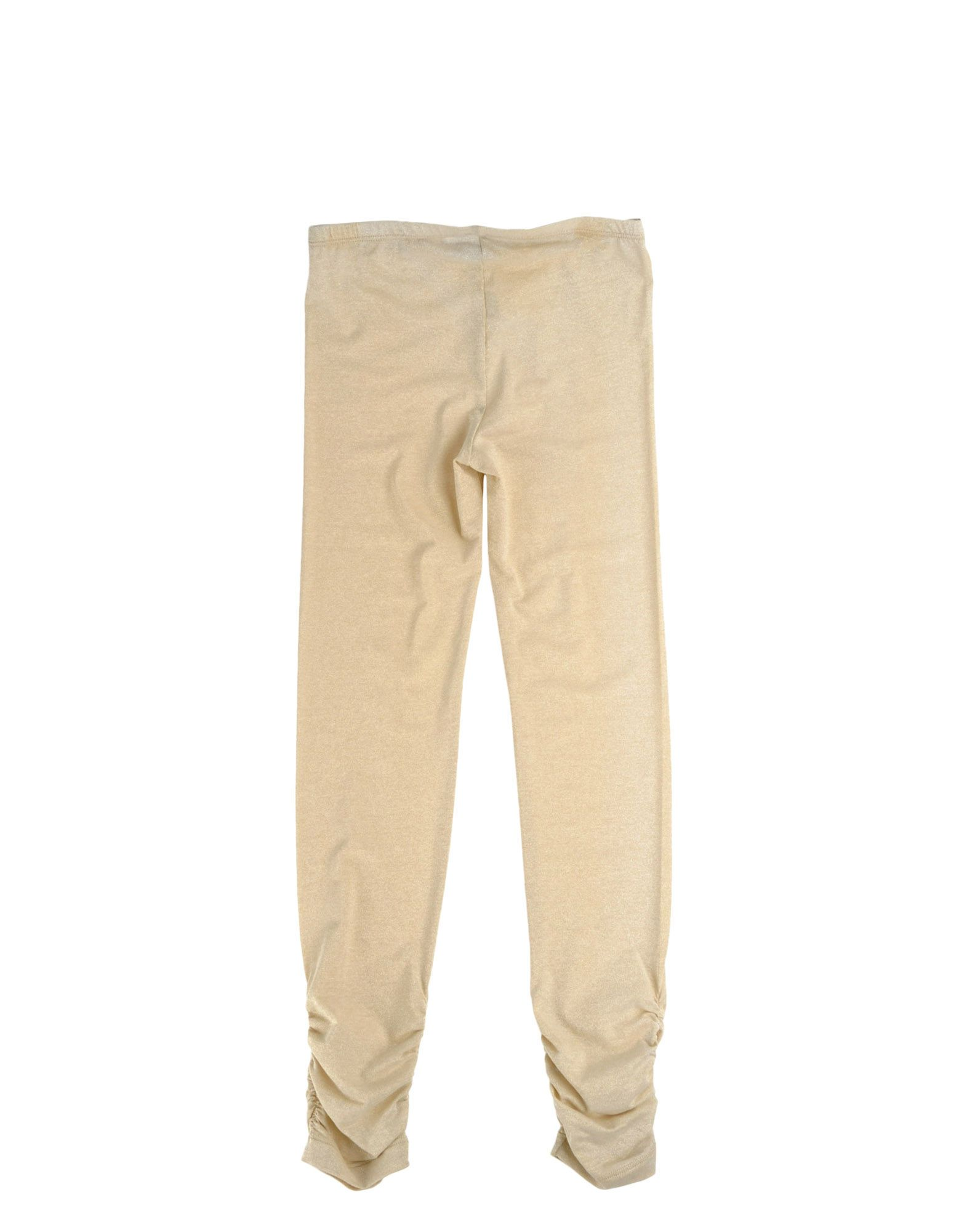 TROUSERS Miss Grant Beige Girl Cotton