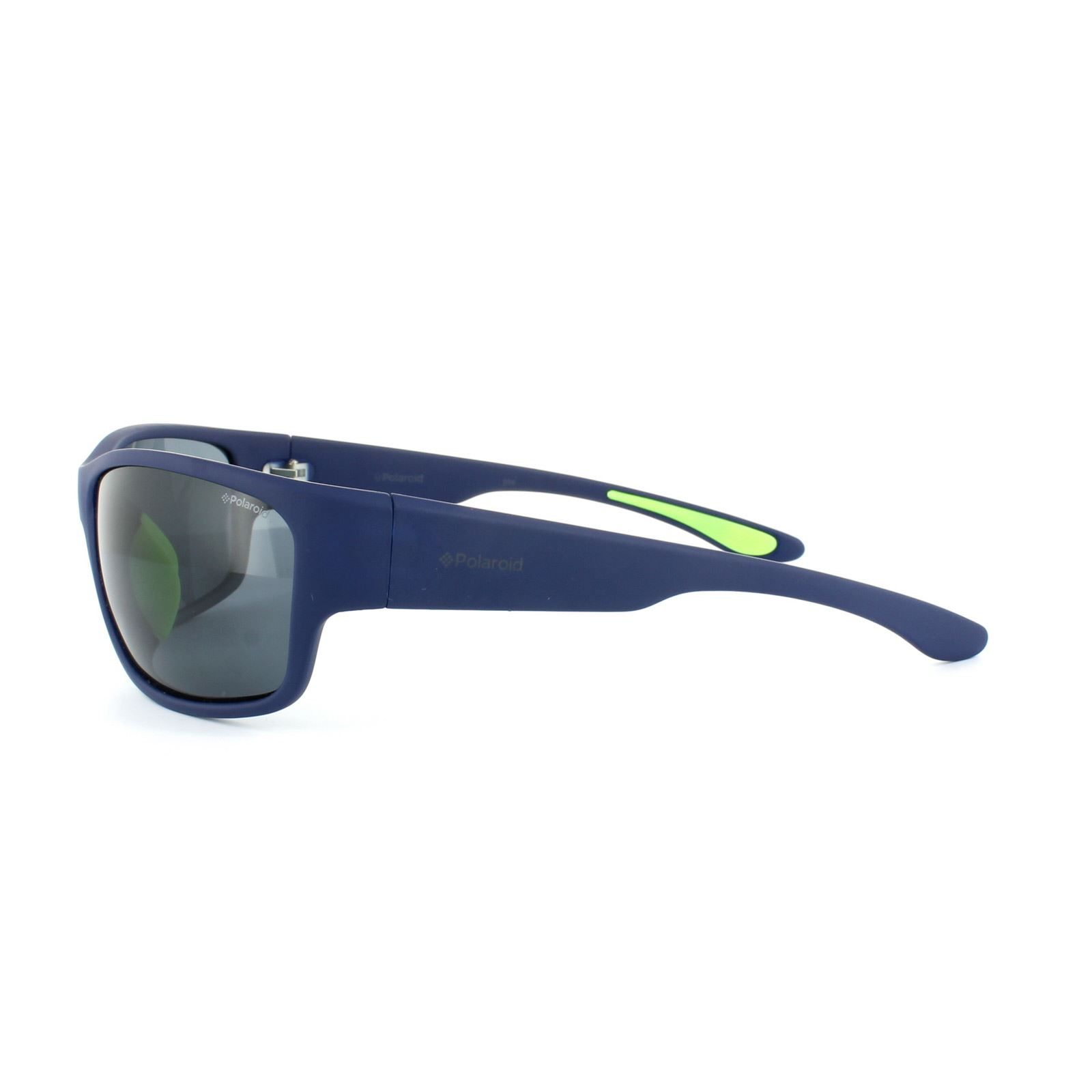 Polaroid Sunglasses 3015/S X03 C3 Blue Grey Polarized