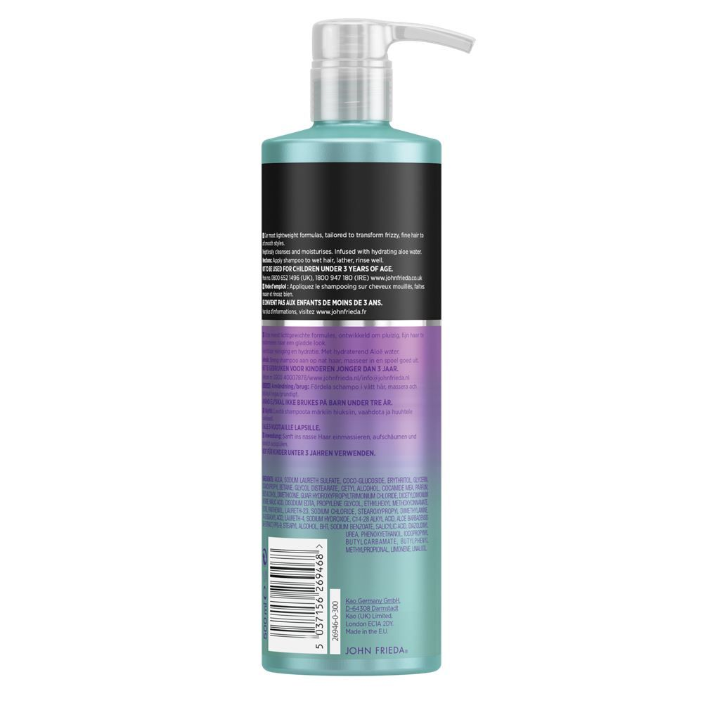 John Frieda Frizz Ease Weightless Wonder Fine Hair Shampoo & Conditioner 500ml Duo Pack