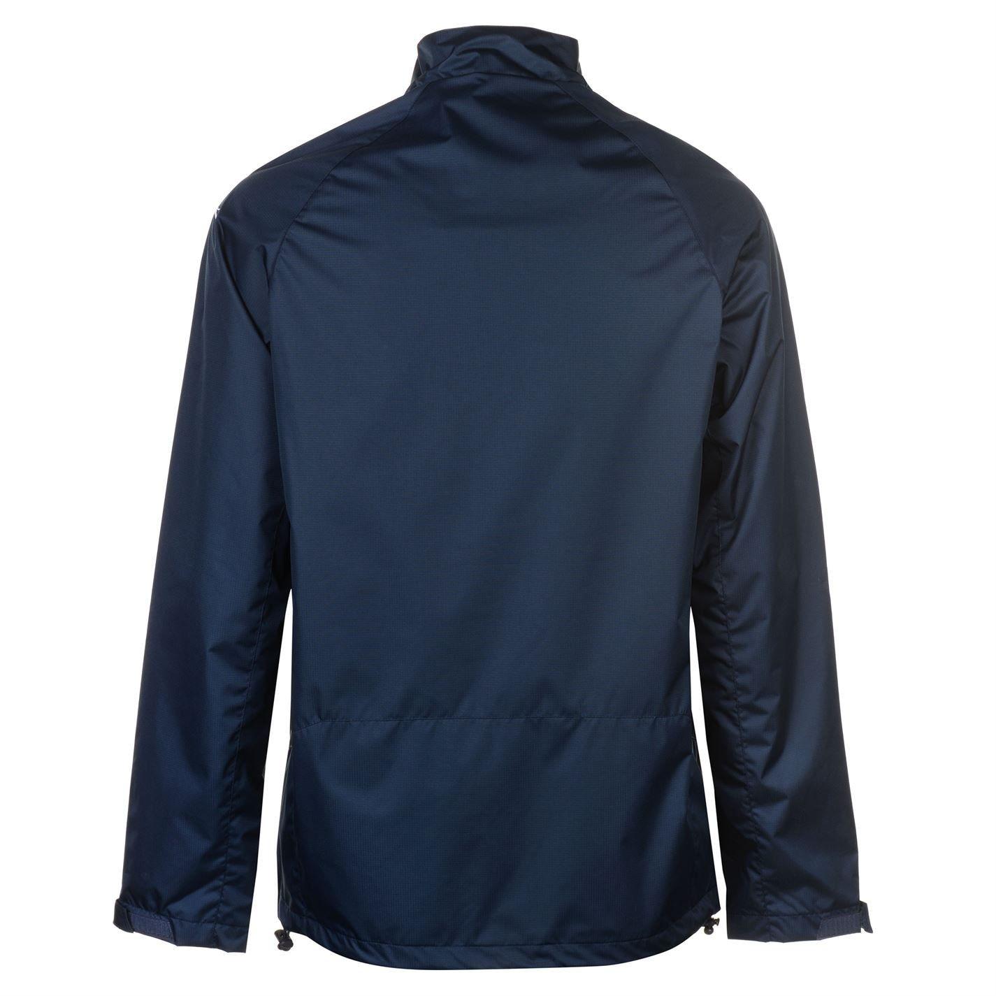 Slazenger Mens Water Resistant Jacket Waterproof Full Zip Long Sleeve Tops