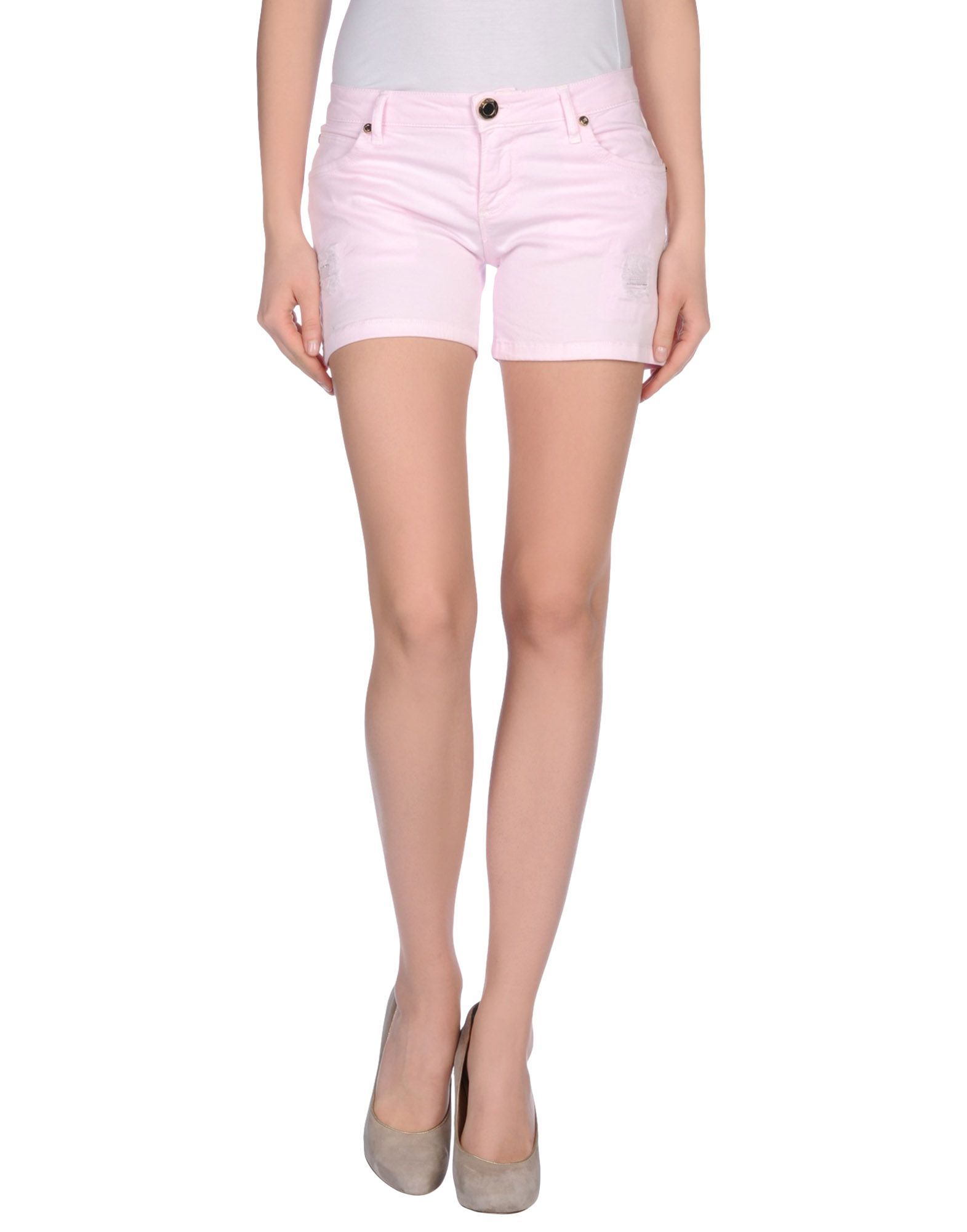 Nenette Women's Shorts Pink Cotton