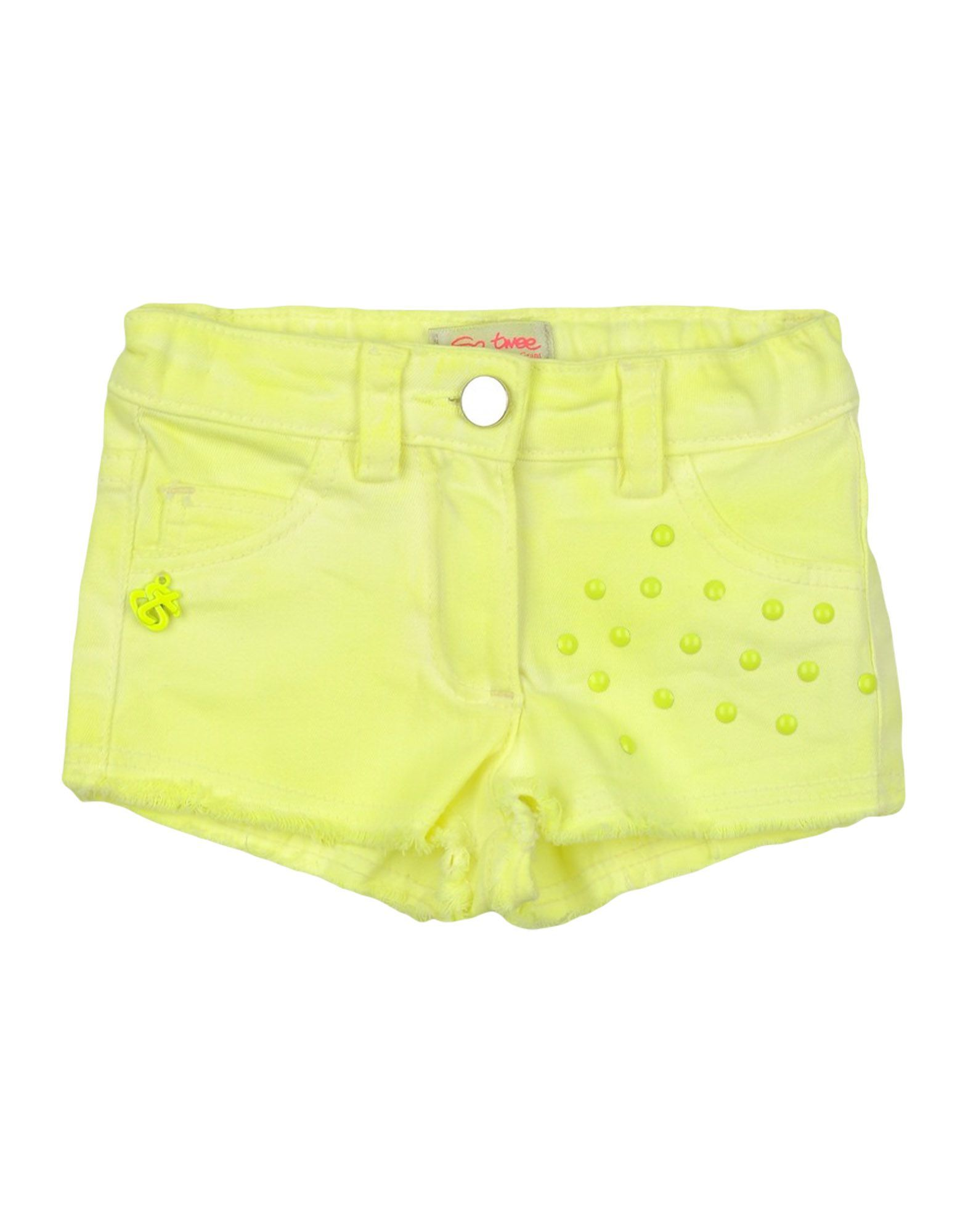 TROUSERS Girl So Twee By Miss Grant Yellow Cotton