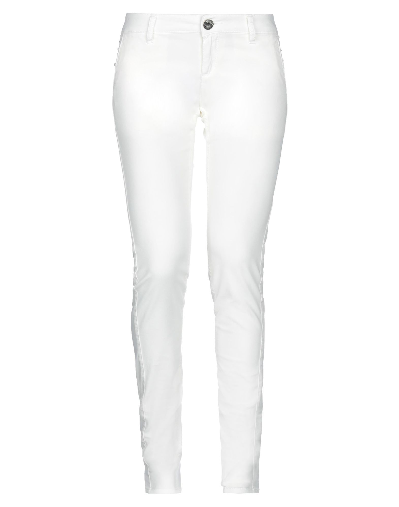 TROUSERS Toy G. Ivory Woman Cotton