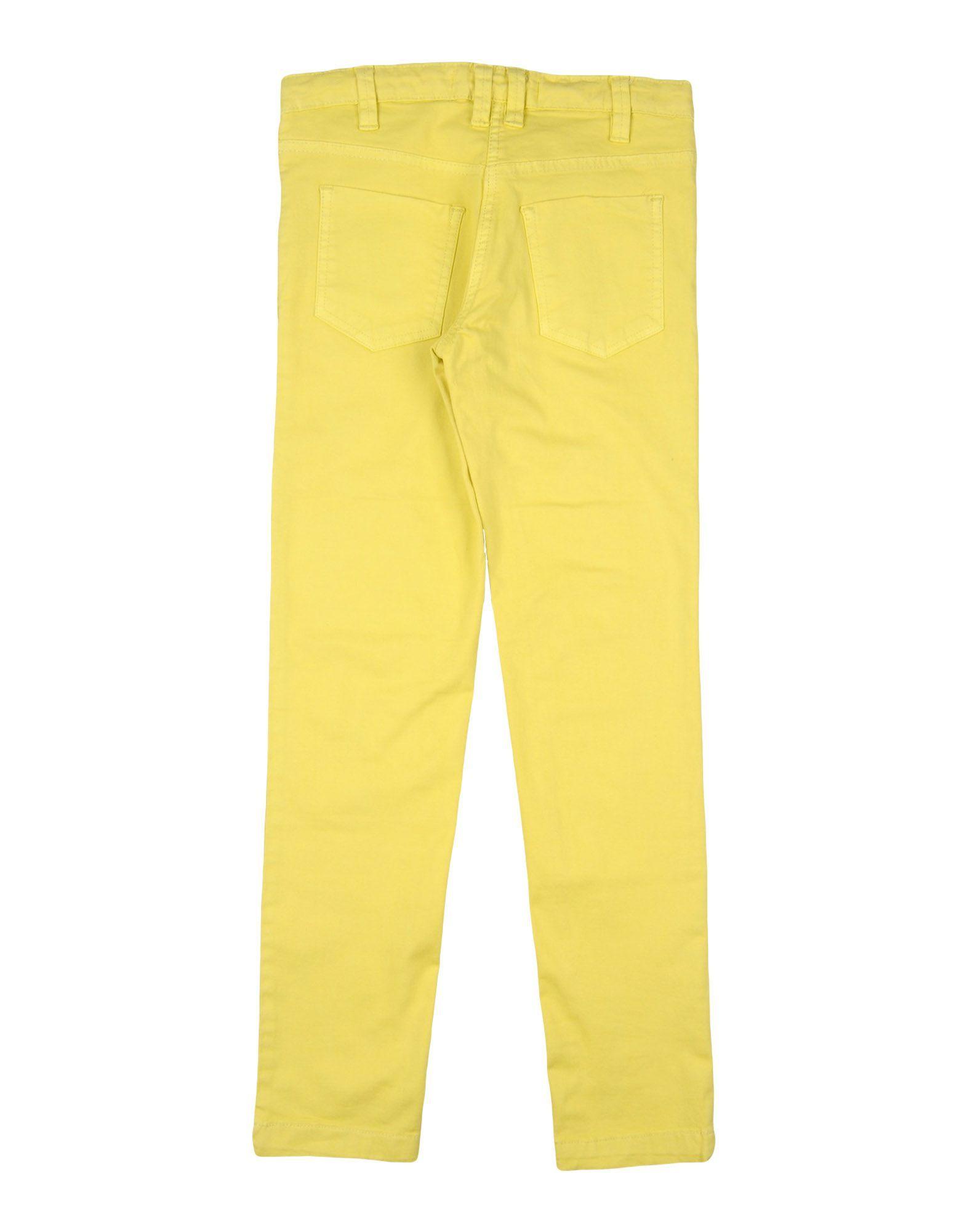 TROUSERS Girl Heach Dolls By Silvian Heach Yellow Cotton