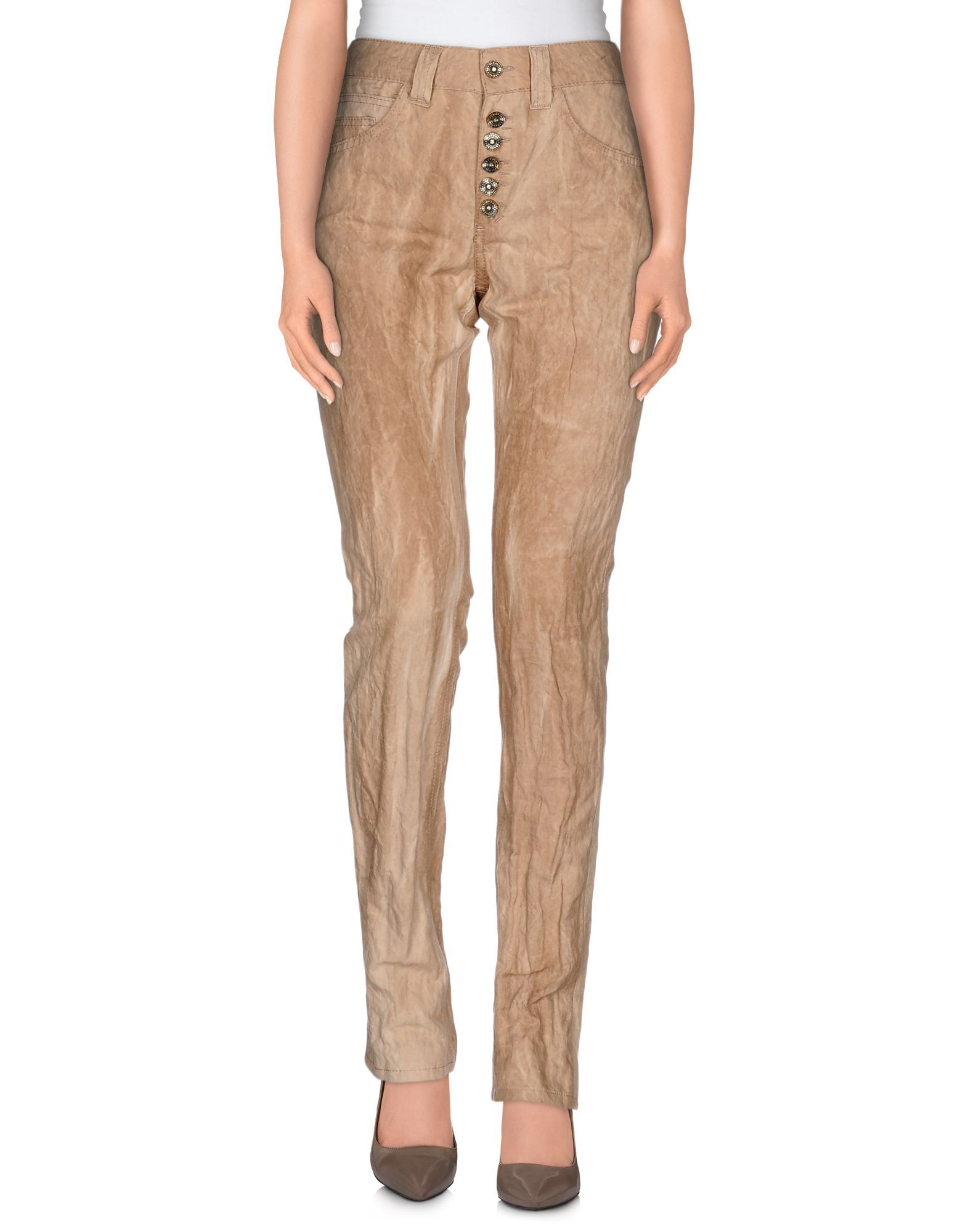 TROUSERS Dondup Cocoa Woman Cotton