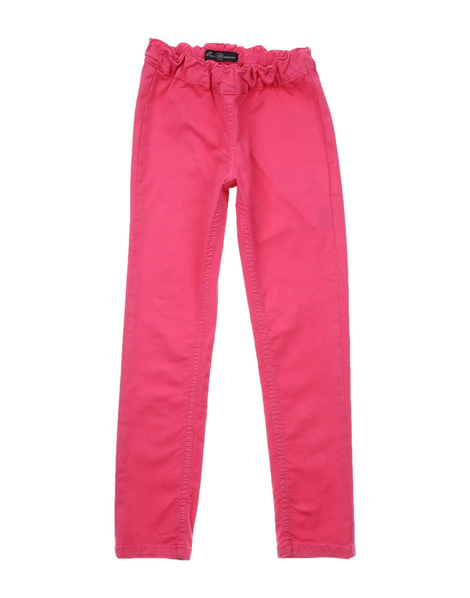 TROUSERS Miss Blumarine Fuchsia Girl Cotton