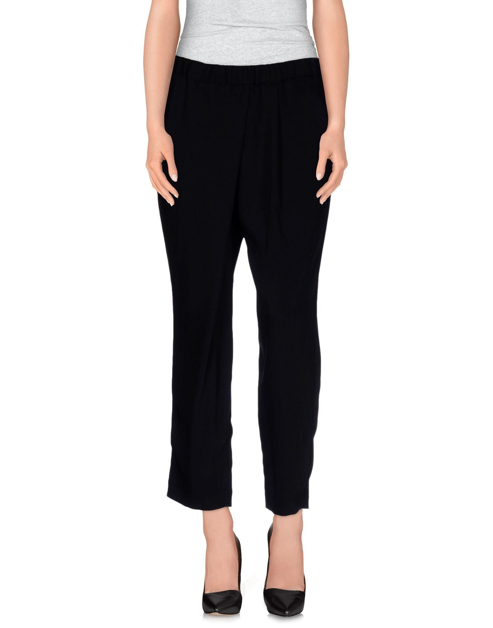 Elizabeth And James Black Polyester Pantaloni