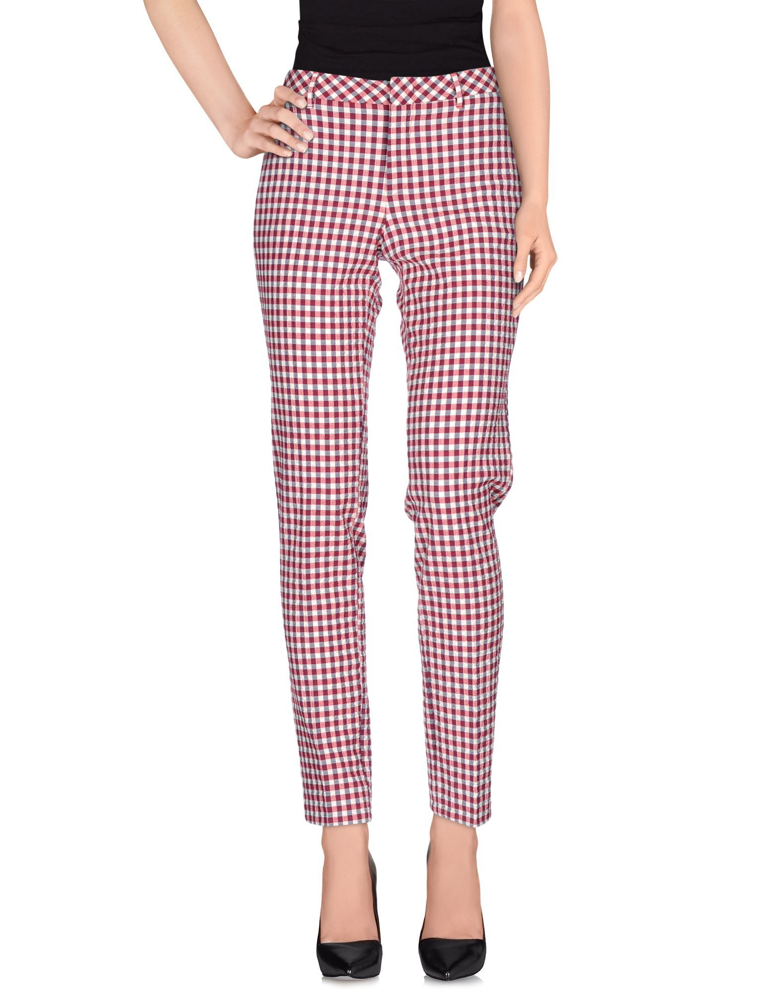 TROUSERS Pt01 Red Woman Cotton