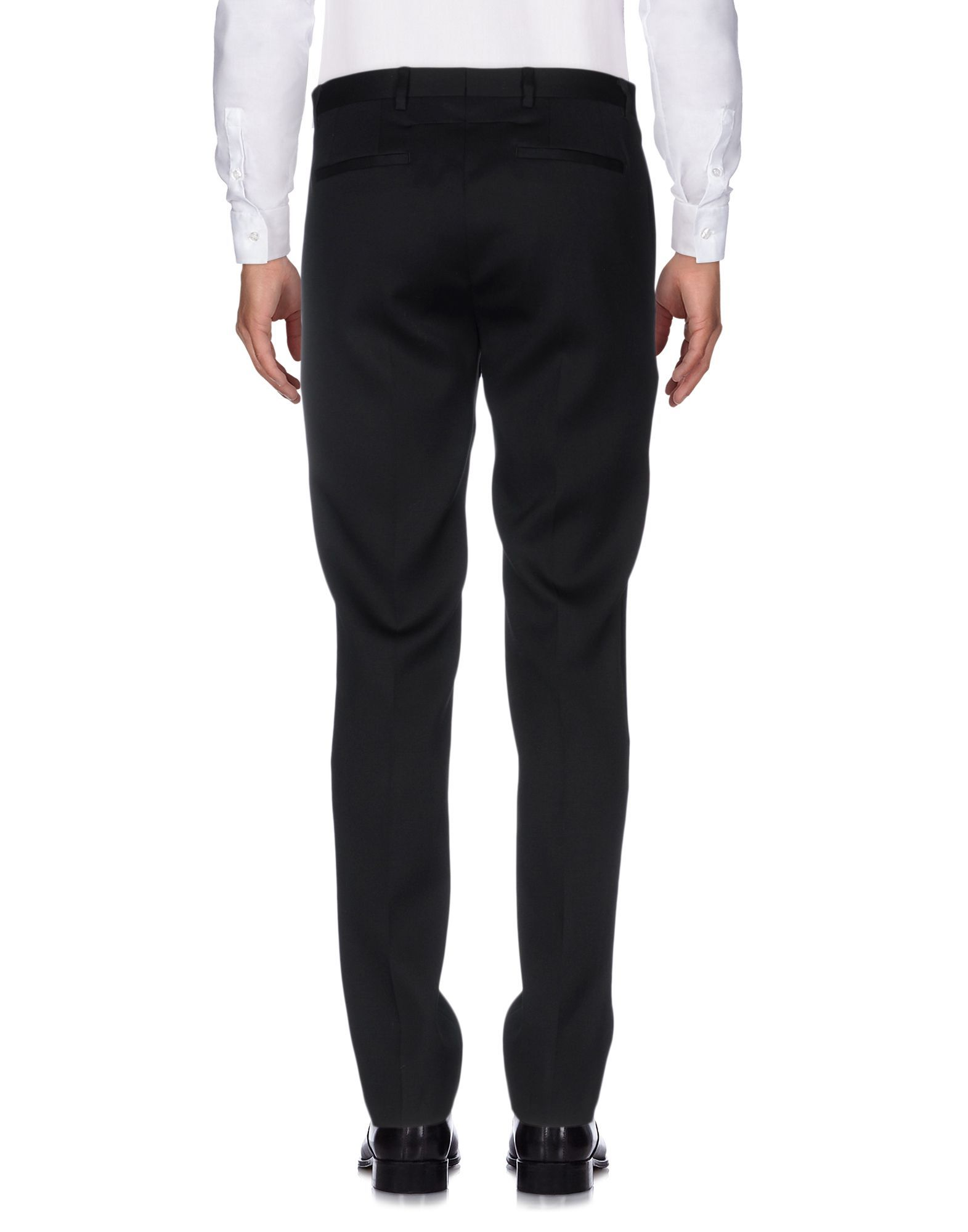 Givenchy Black Wool Tailored Trousers