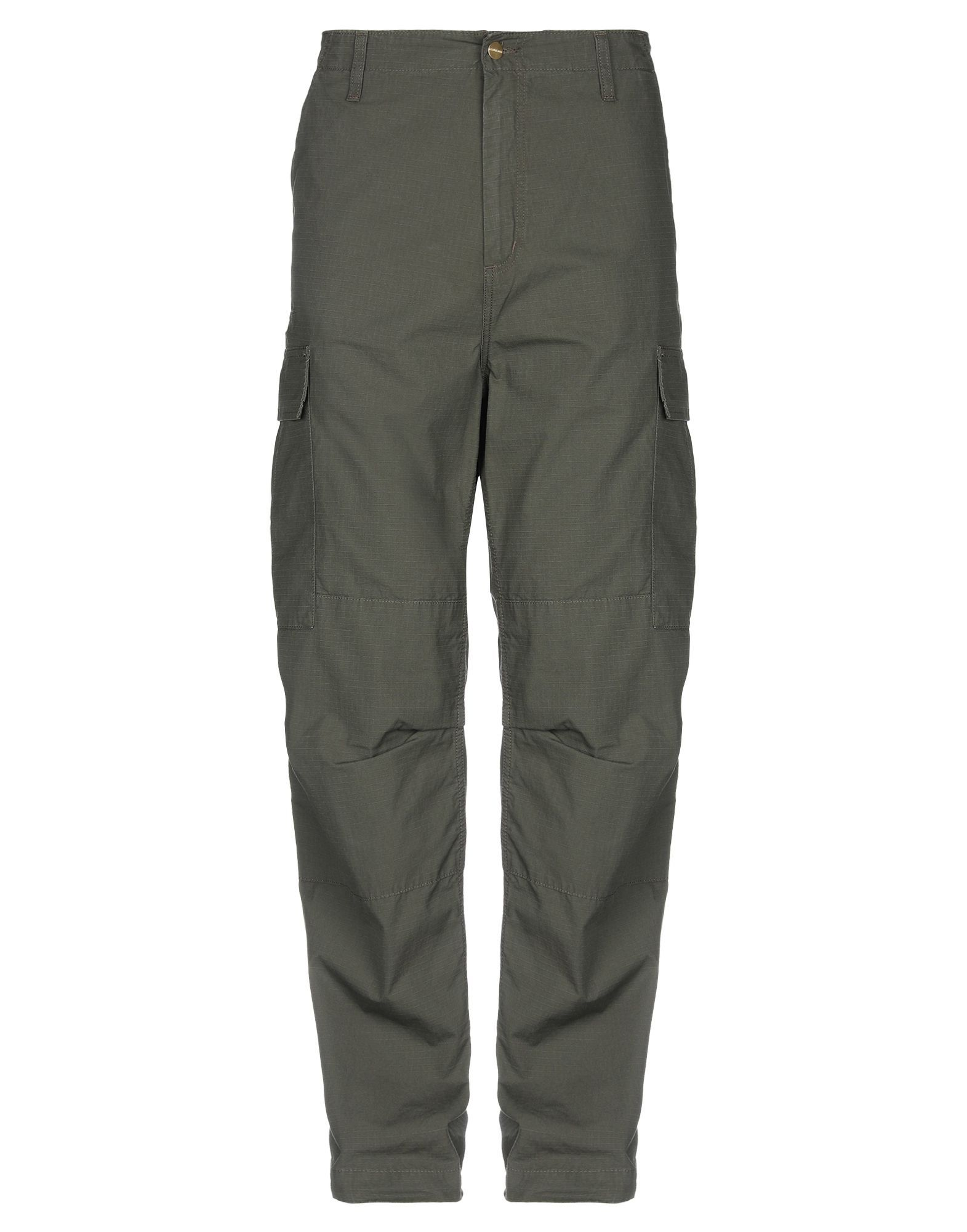 Carhartt Military Green Cotton Trousers