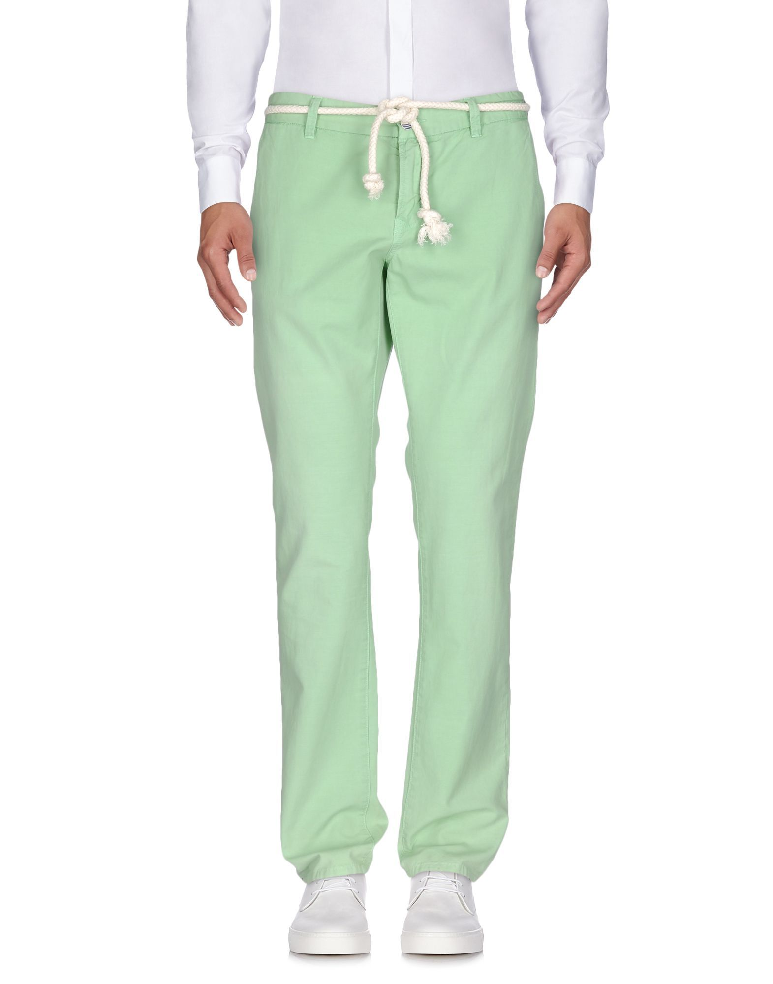 At.P.Co Light Green Cotton Chino Trousers