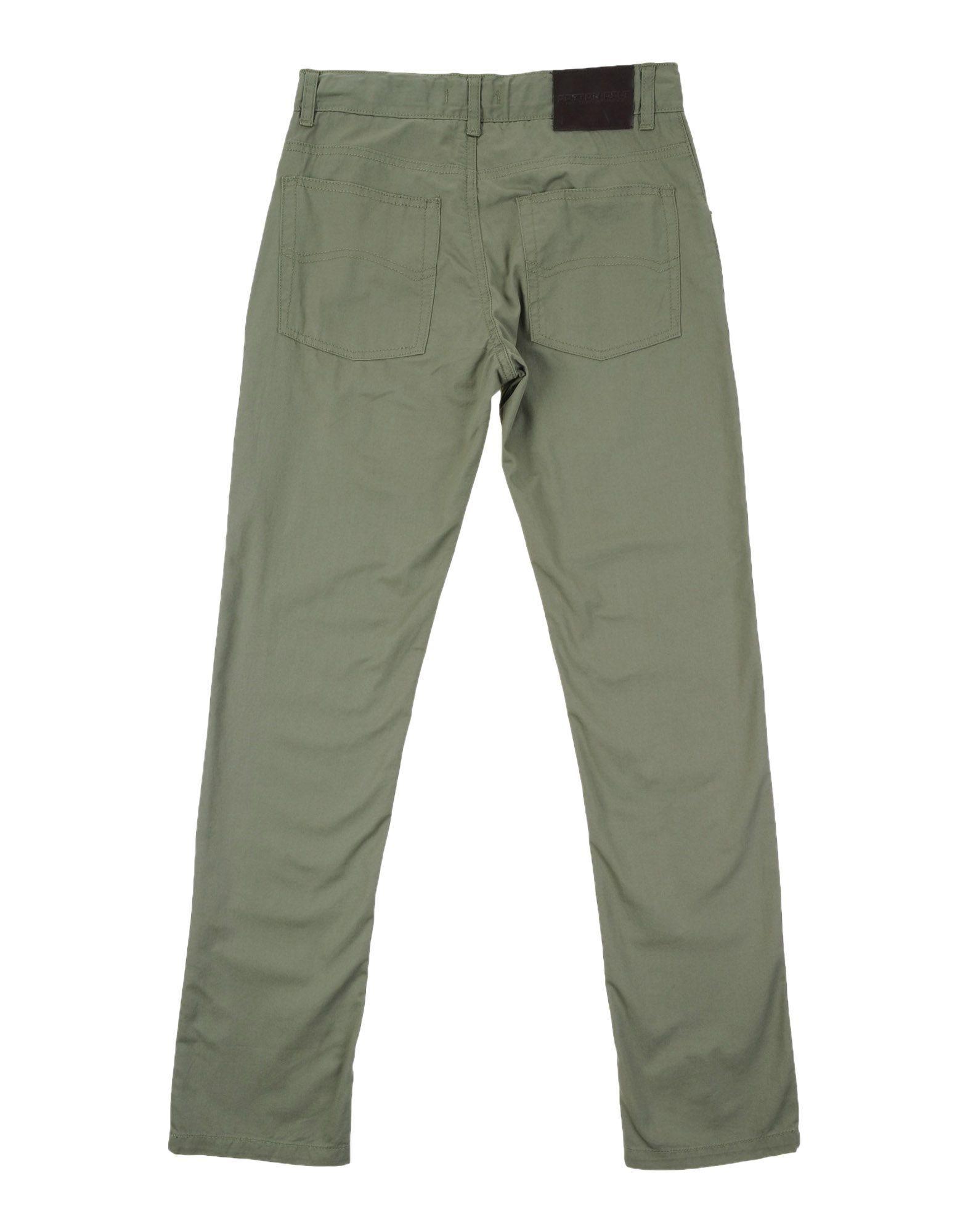 TROUSERS Cotton Belt Military green Boy Cotton