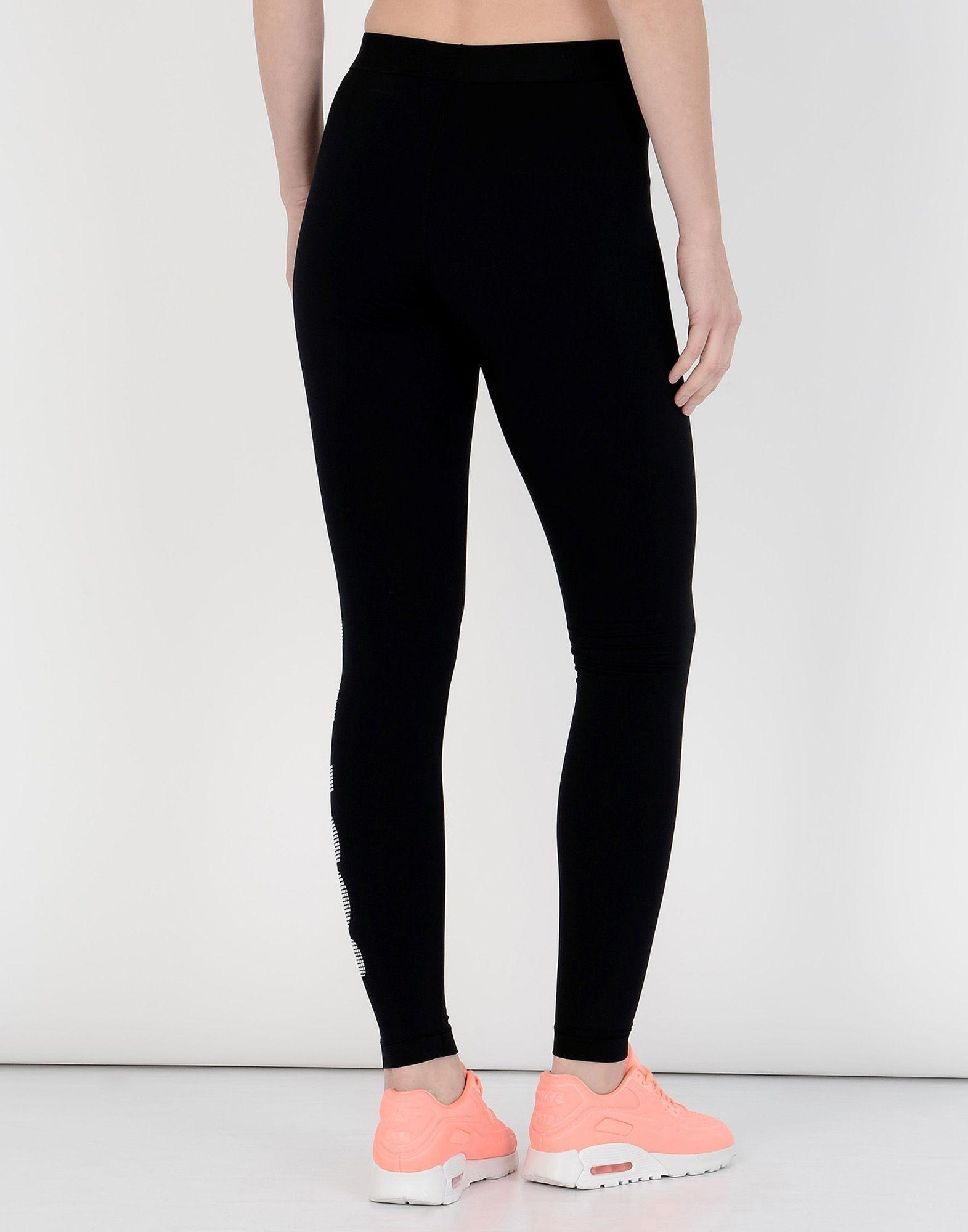 Nike Black Logo Leggings