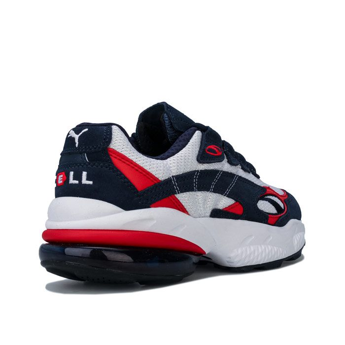 Women's Puma Cell Venom Trainers in Navy Red