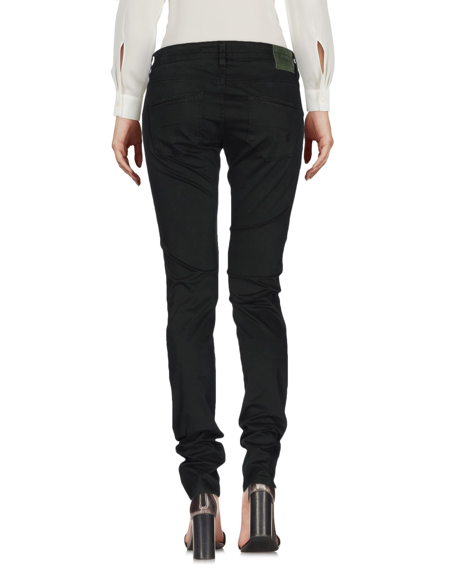 Re-Hash Dark Green Cotton Tapered Leg Trousers