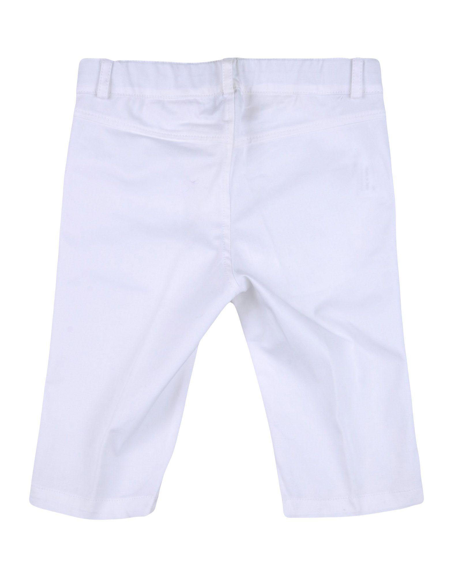TROUSERS Aletta White Boy Cotton