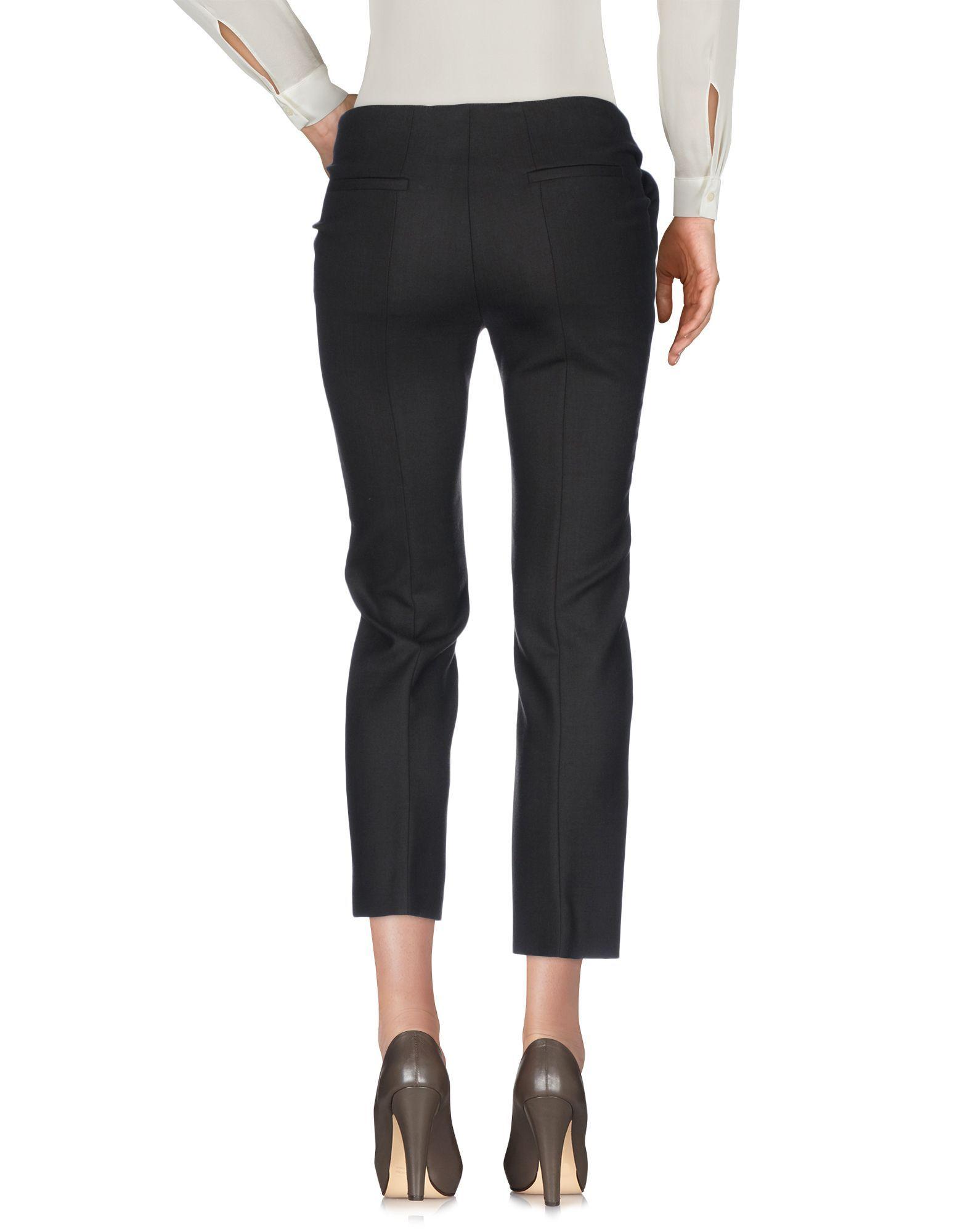 Miu Miu Dark Brown Virgin Wool Tailored Trousers