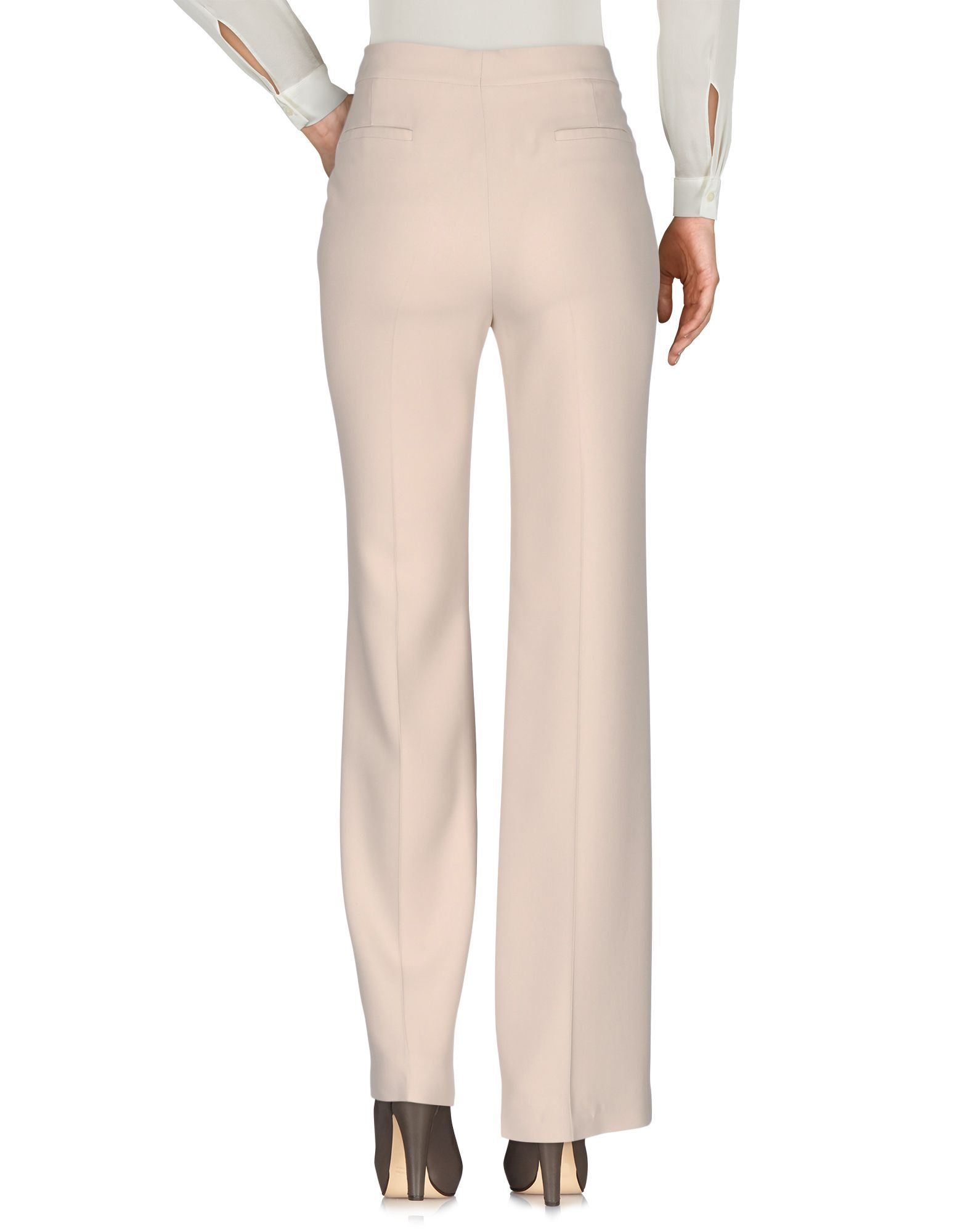 Chloe Beige High Waisted Tailored Trousers
