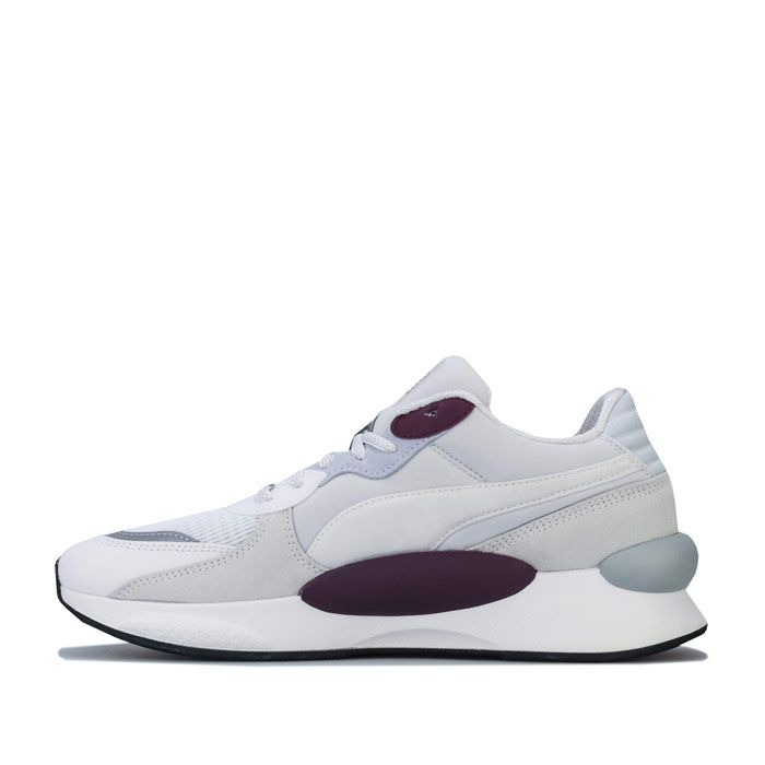 Men's Puma RS 9.8 Gravity Trainers in White purple