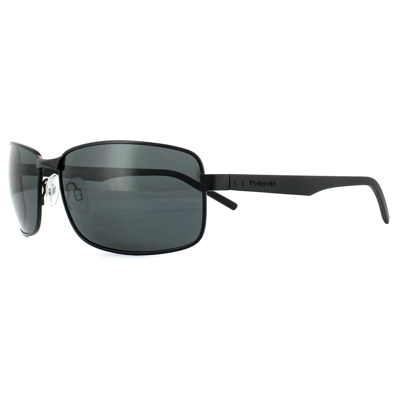 Polaroid Sunglasses PLD 2045/S 807 M9 Black Grey Polarized