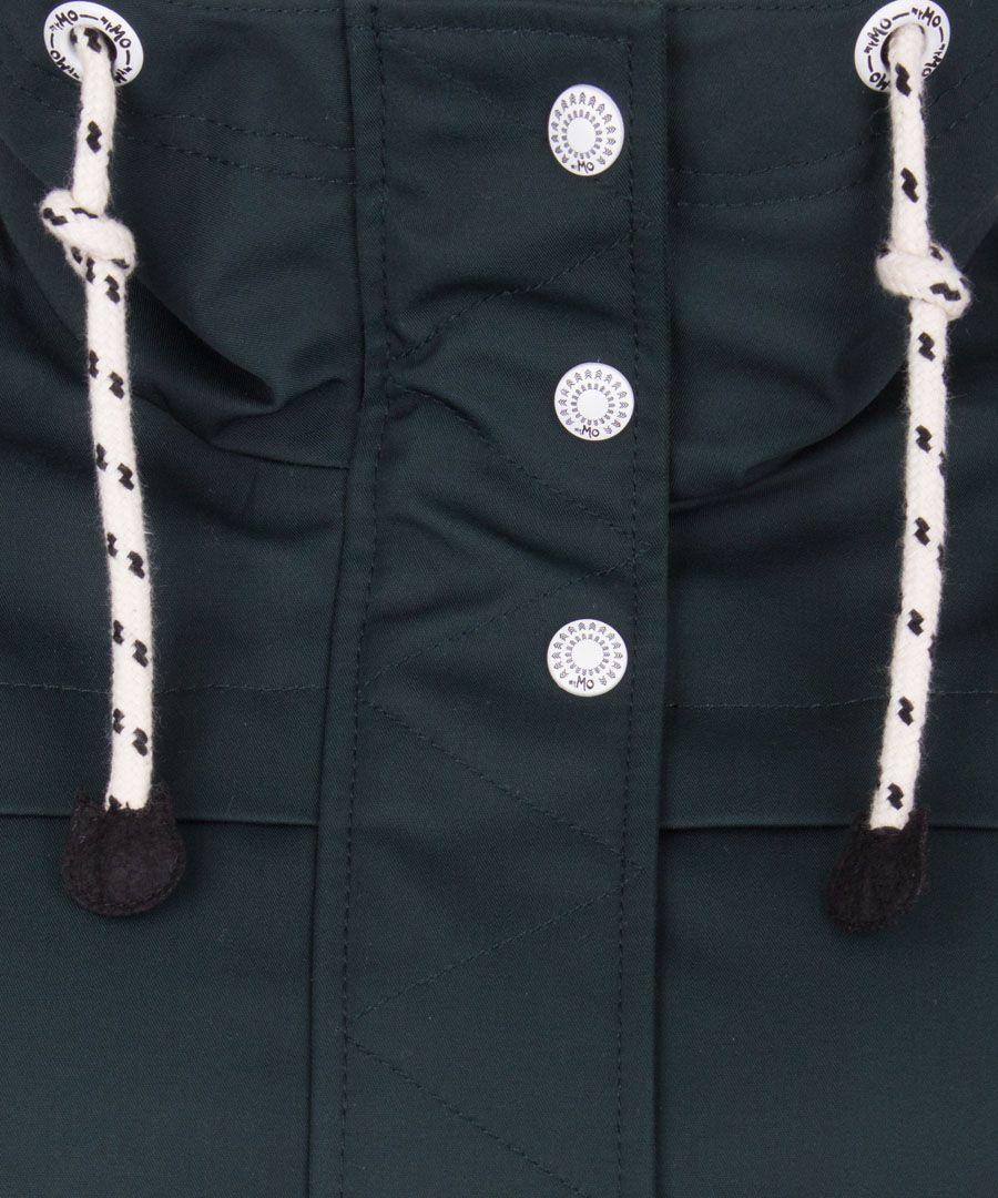 Dark green hooded jacket