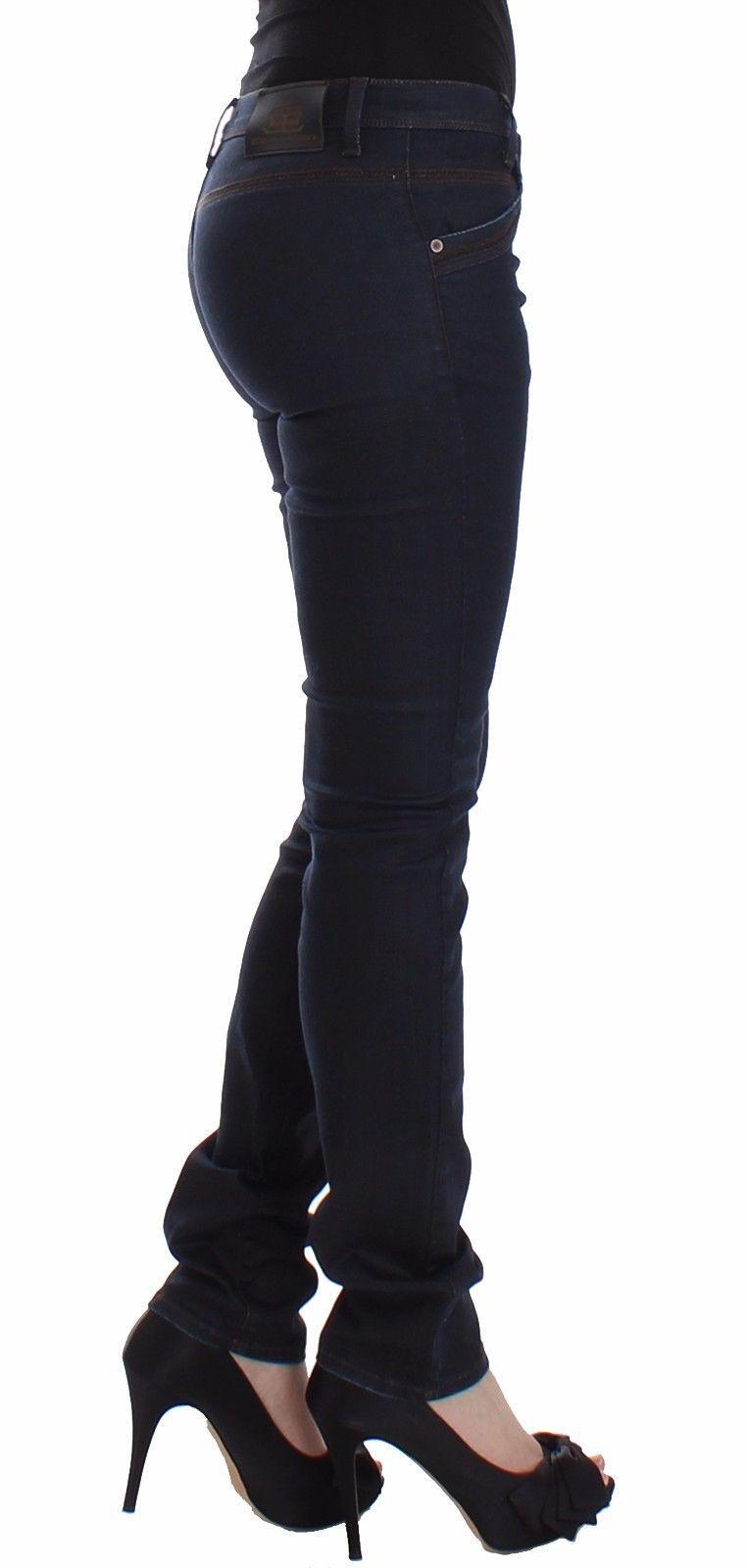 Ermanno Scervino Blue Slim Jeans Denim Pants Skinny Leg Stretch