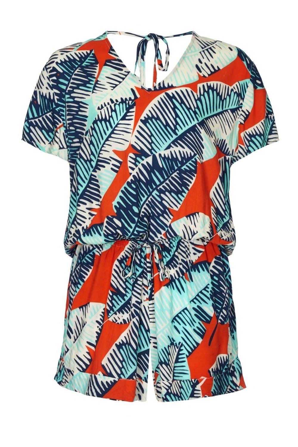 BRENNA PLAYSUIT CHEESE