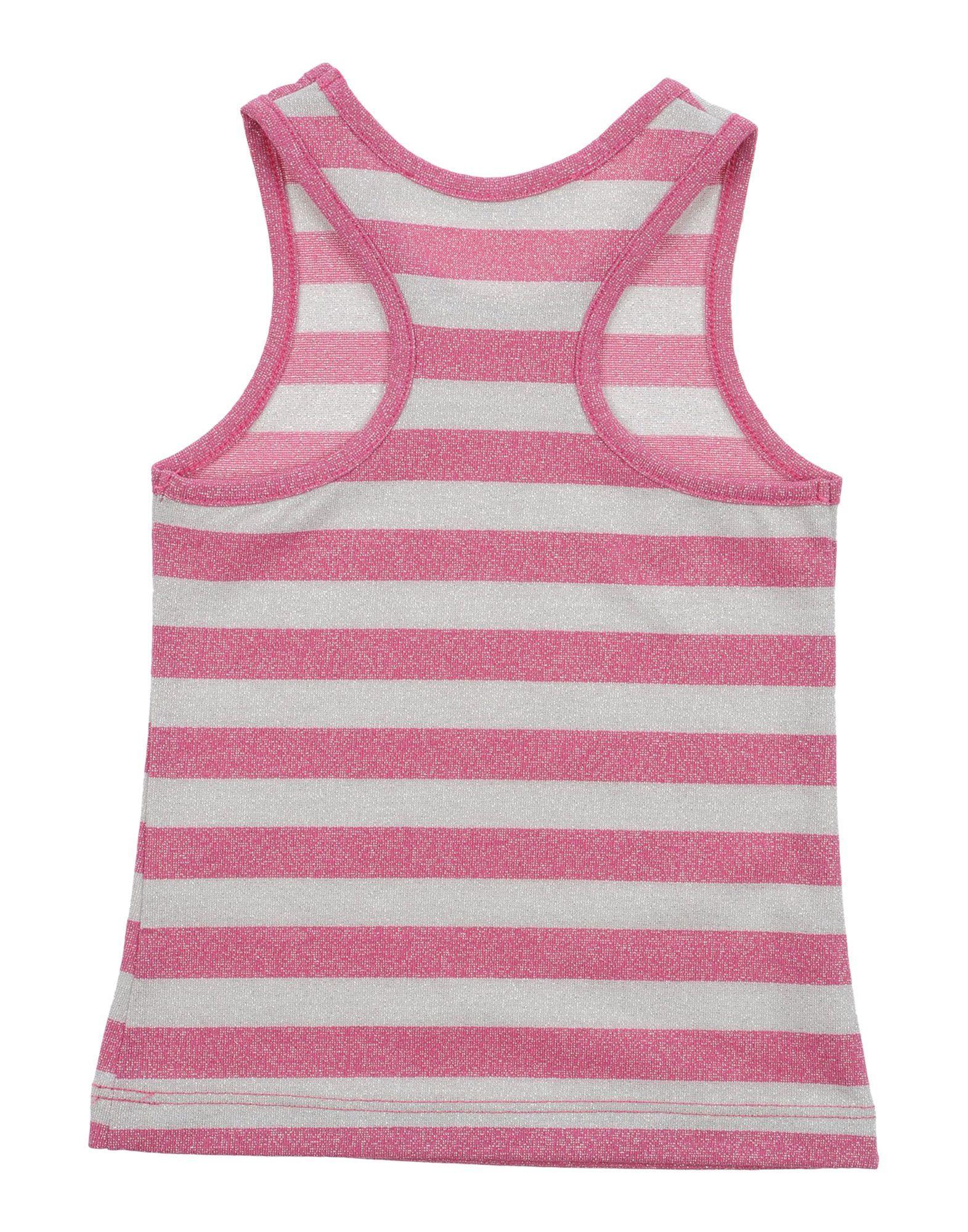 L:Ú L:Ú By Miss Grant Girl T-shirts Fuchsia Viscose