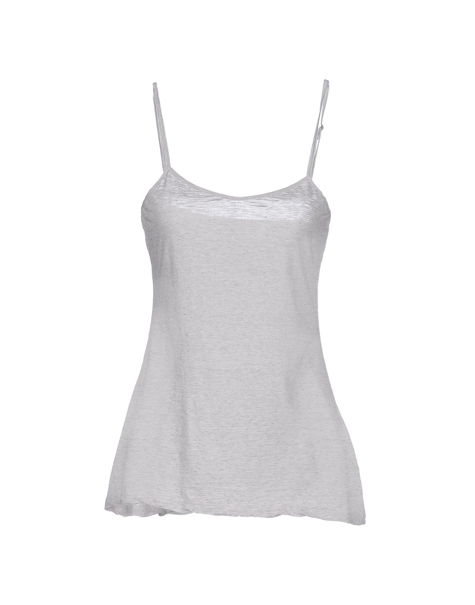 James Perse Light Grey Cotton Camisole