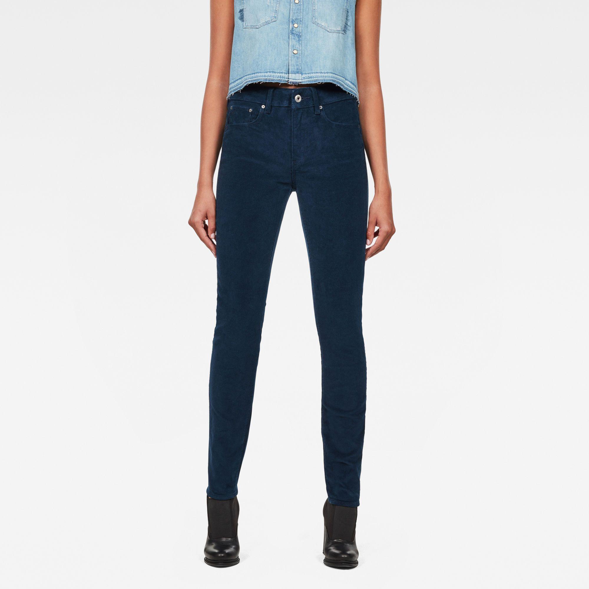G-Star RAW 3301 High Waist Skinny Jeans