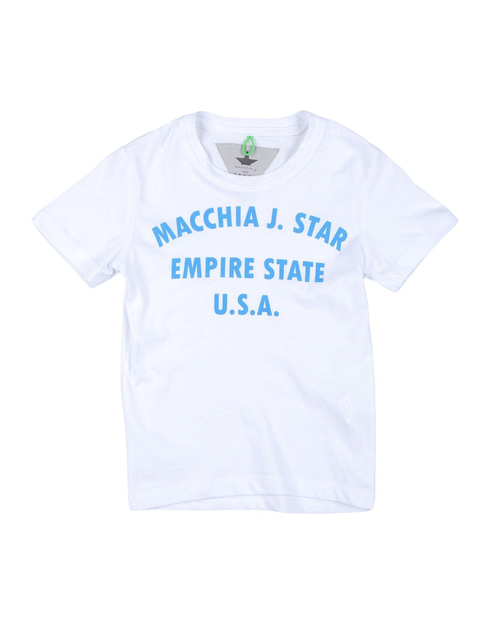 TOPS & TEES Macchia J White Boy Cotton