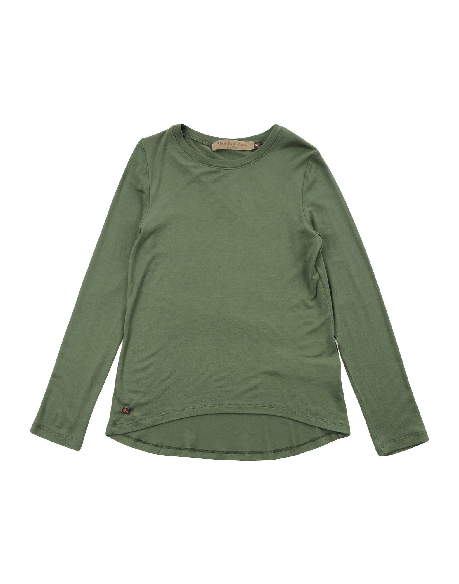 TOPWEAR Manila Grace Denim Military green Girl Modal